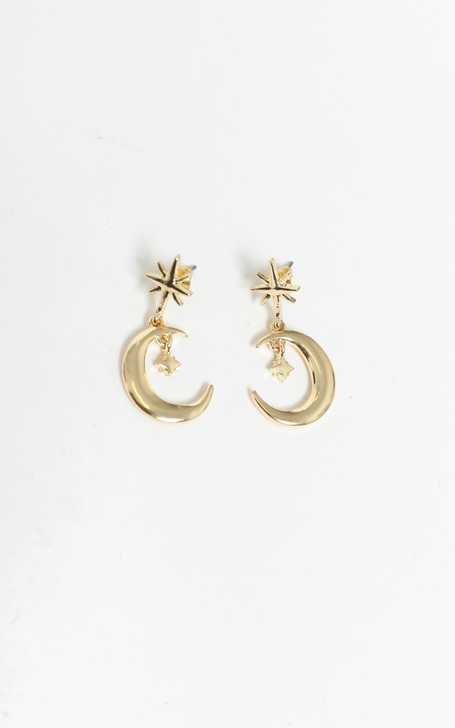 Sorrento Earrings in Gold, , hi-res image number null