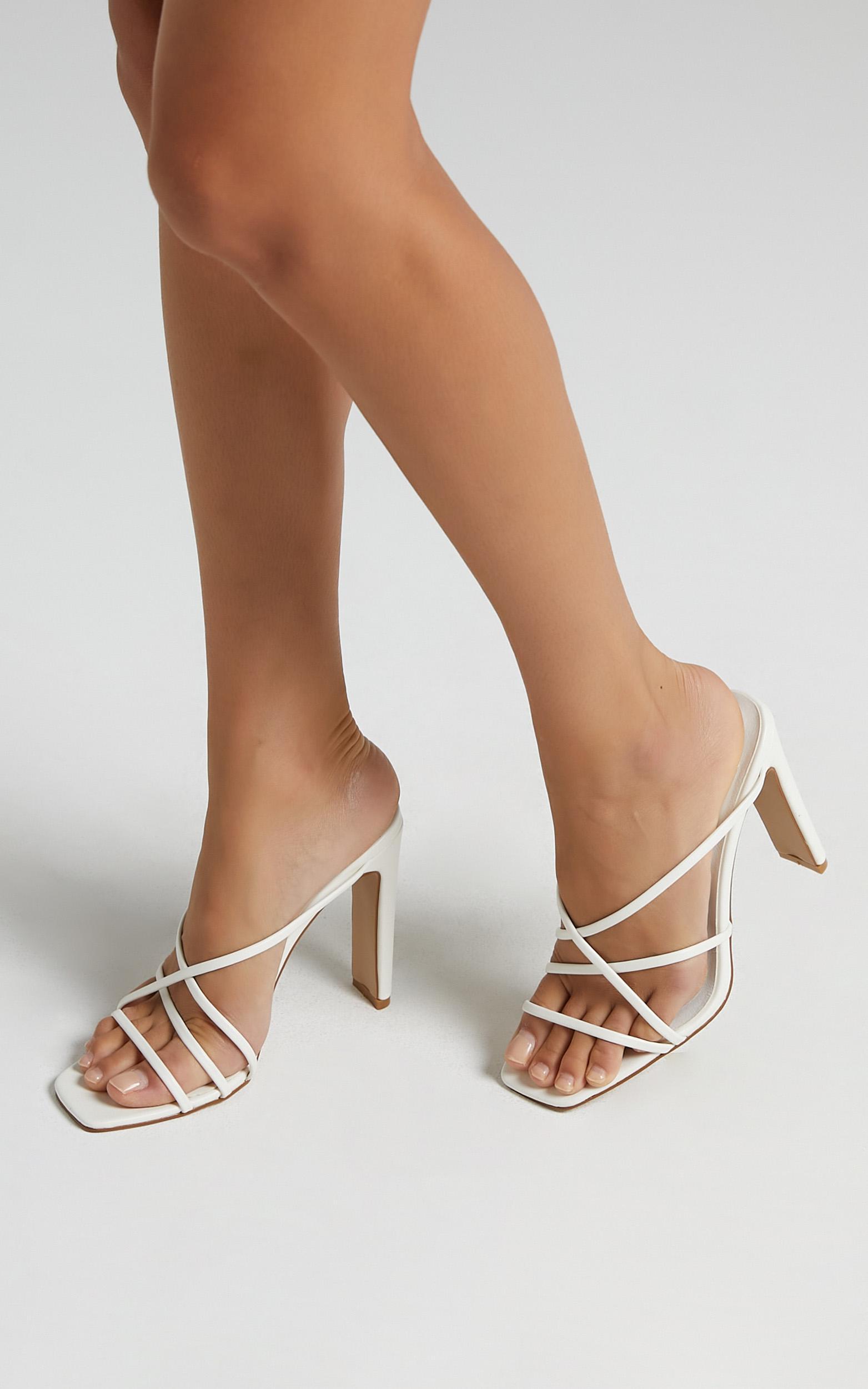 Billini - Yenta Heels in White - 5, White, hi-res image number null