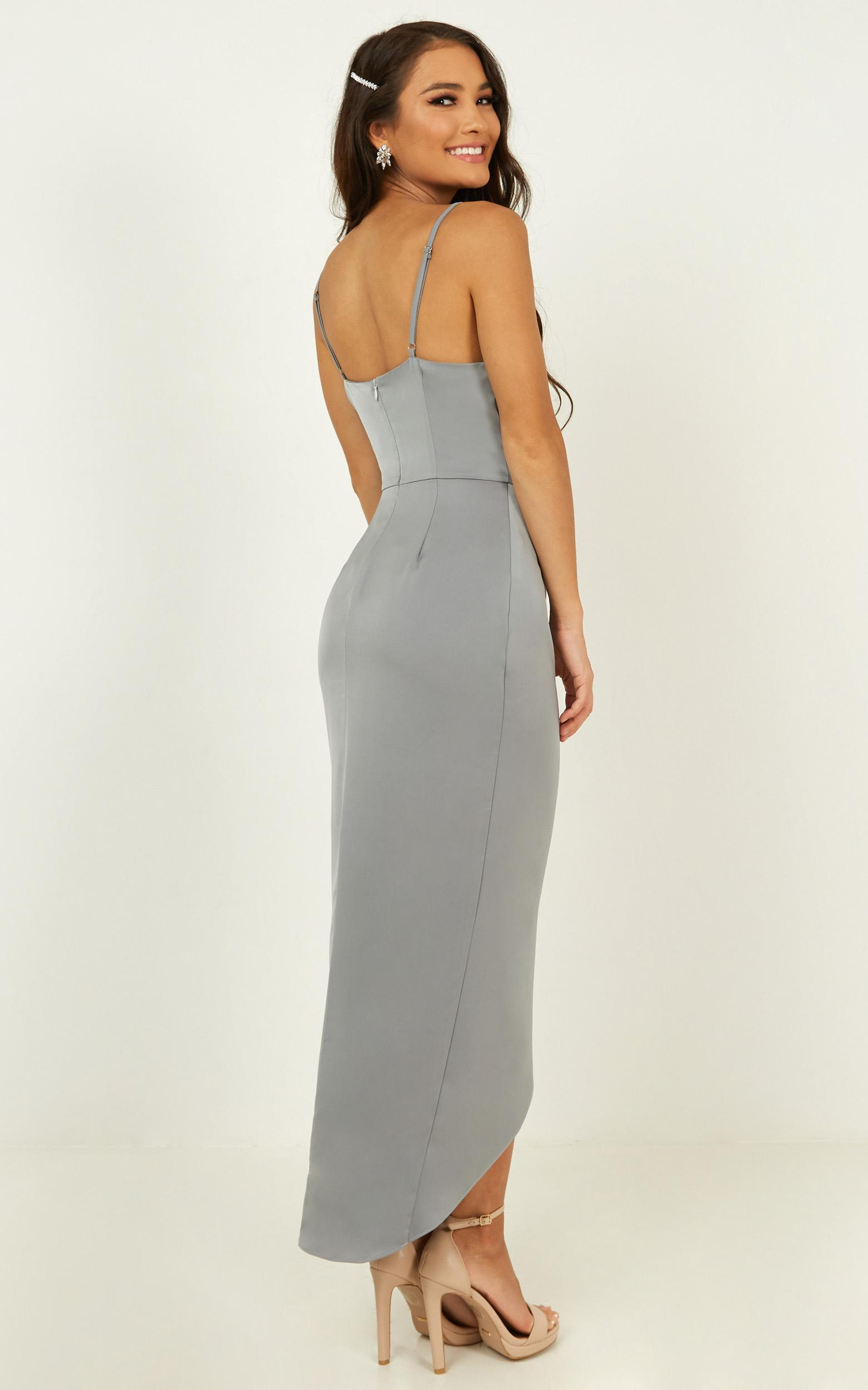 Shes a dreamer dress in dusty blue - 20 (XXXXL), Blue, hi-res image number null