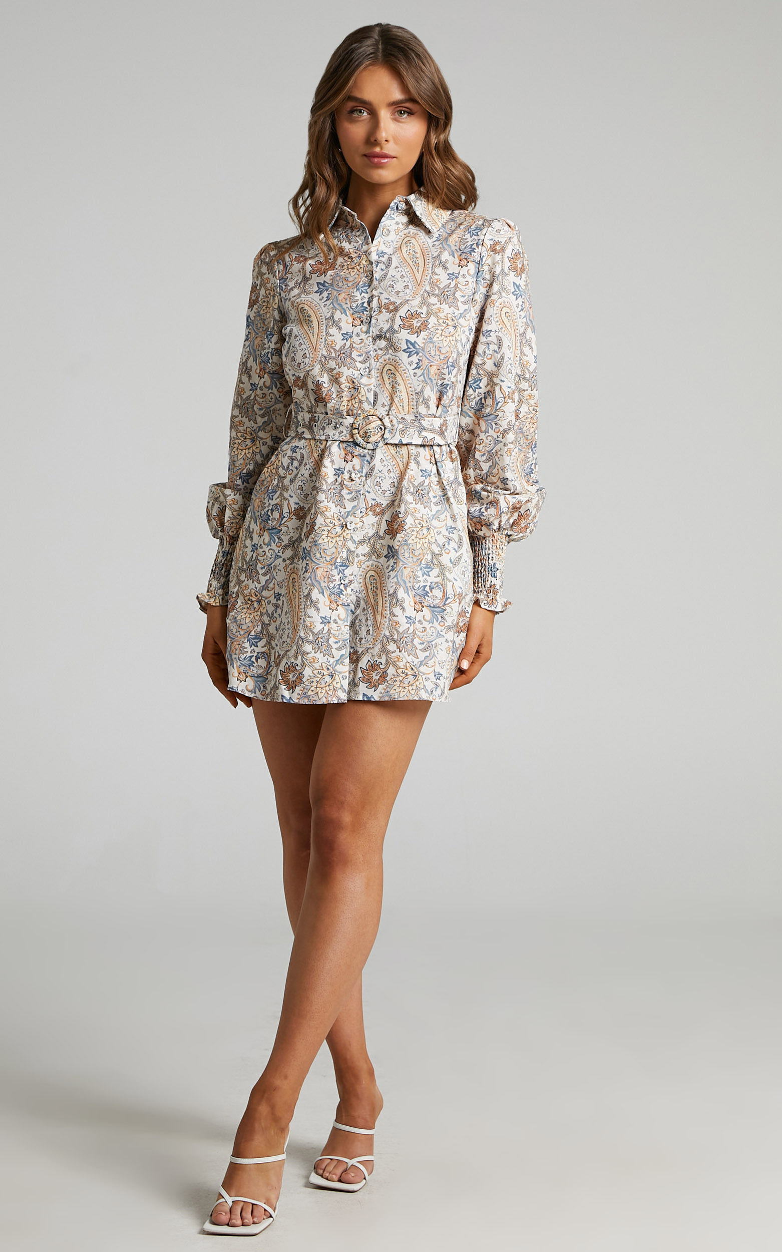 Charlie Holiday - Jagger Dress in Paisley - L, MLT2, hi-res image number null