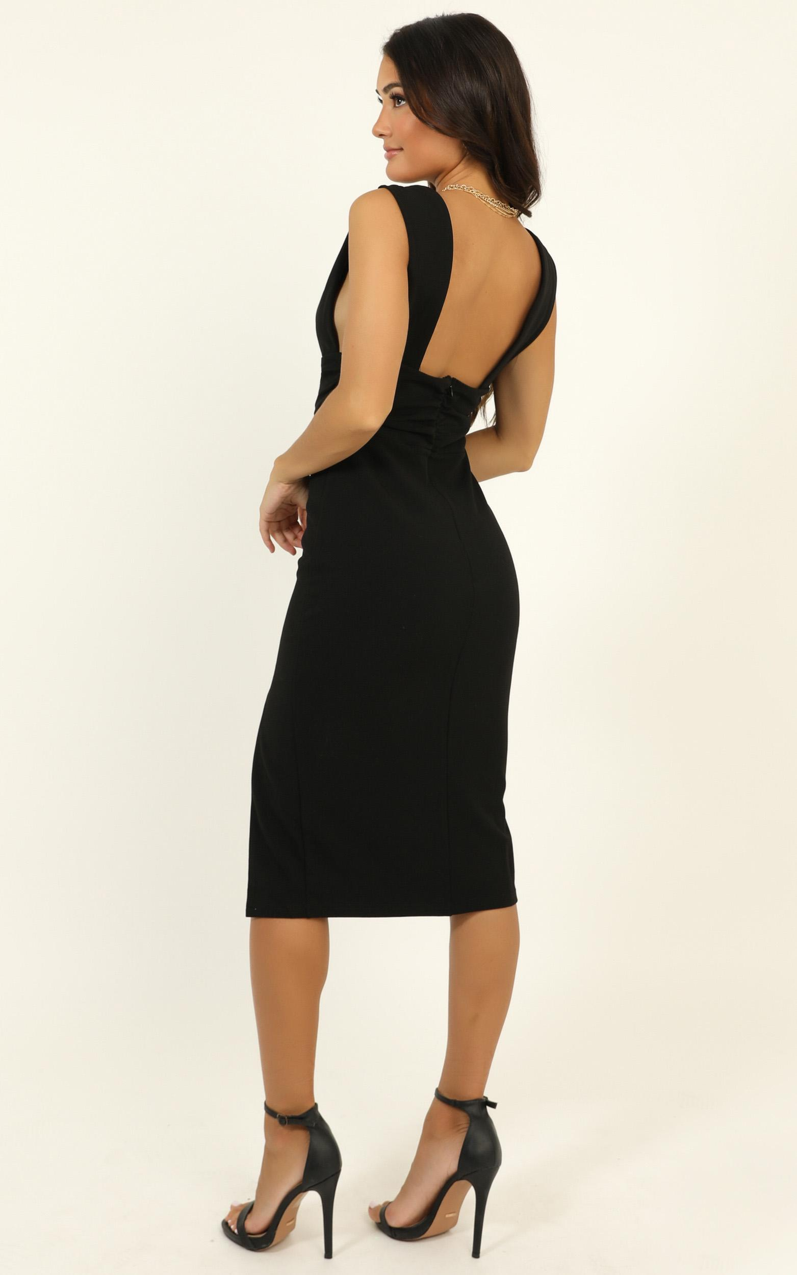 Dont Catch Feelings Dress in black - 20 (XXXXL), Black, hi-res image number null