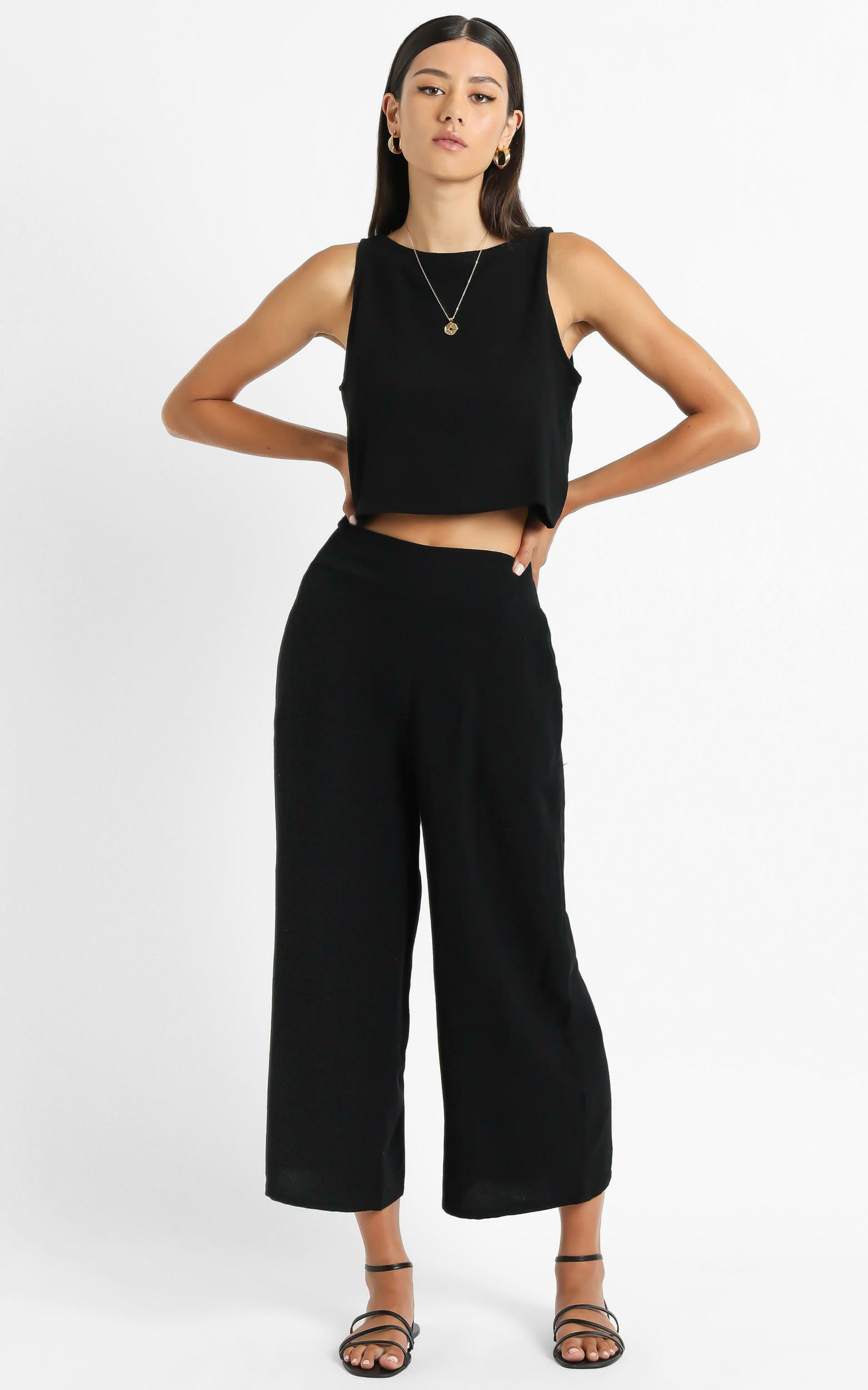 Izabel Pants in black - 14 (XL), Black, hi-res image number null