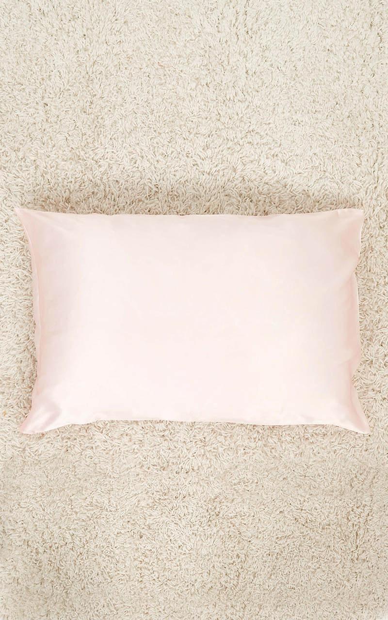 Genuine Silk Pillowcase In Blush, Blush, hi-res image number null