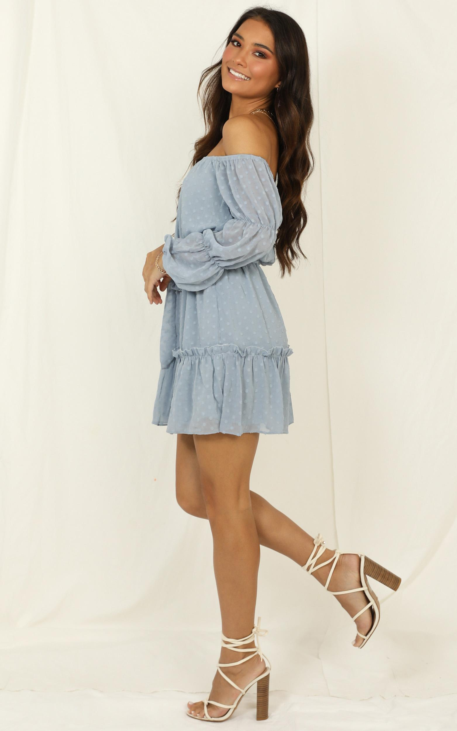 Party Life Dress In light blue - 20 (XXXXL), Blue, hi-res image number null