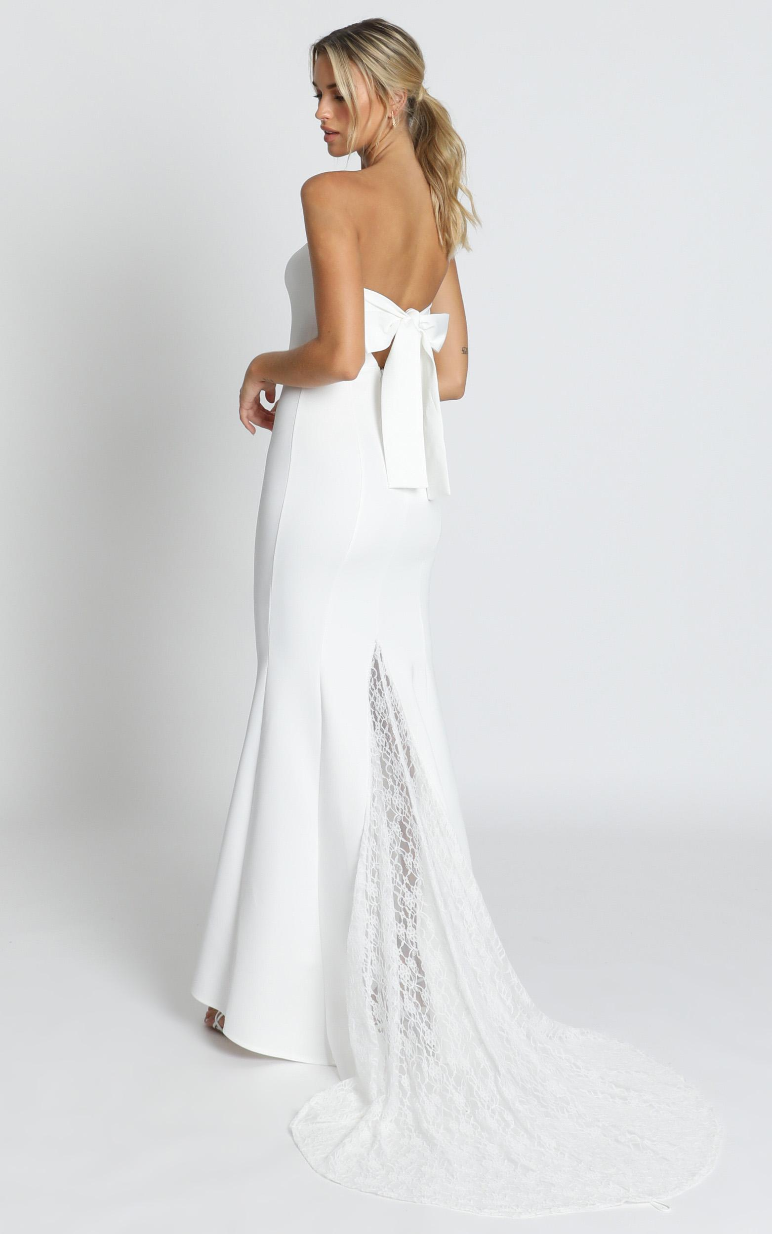Always Will Love You Dress in white - 14 (XL), White, hi-res image number null