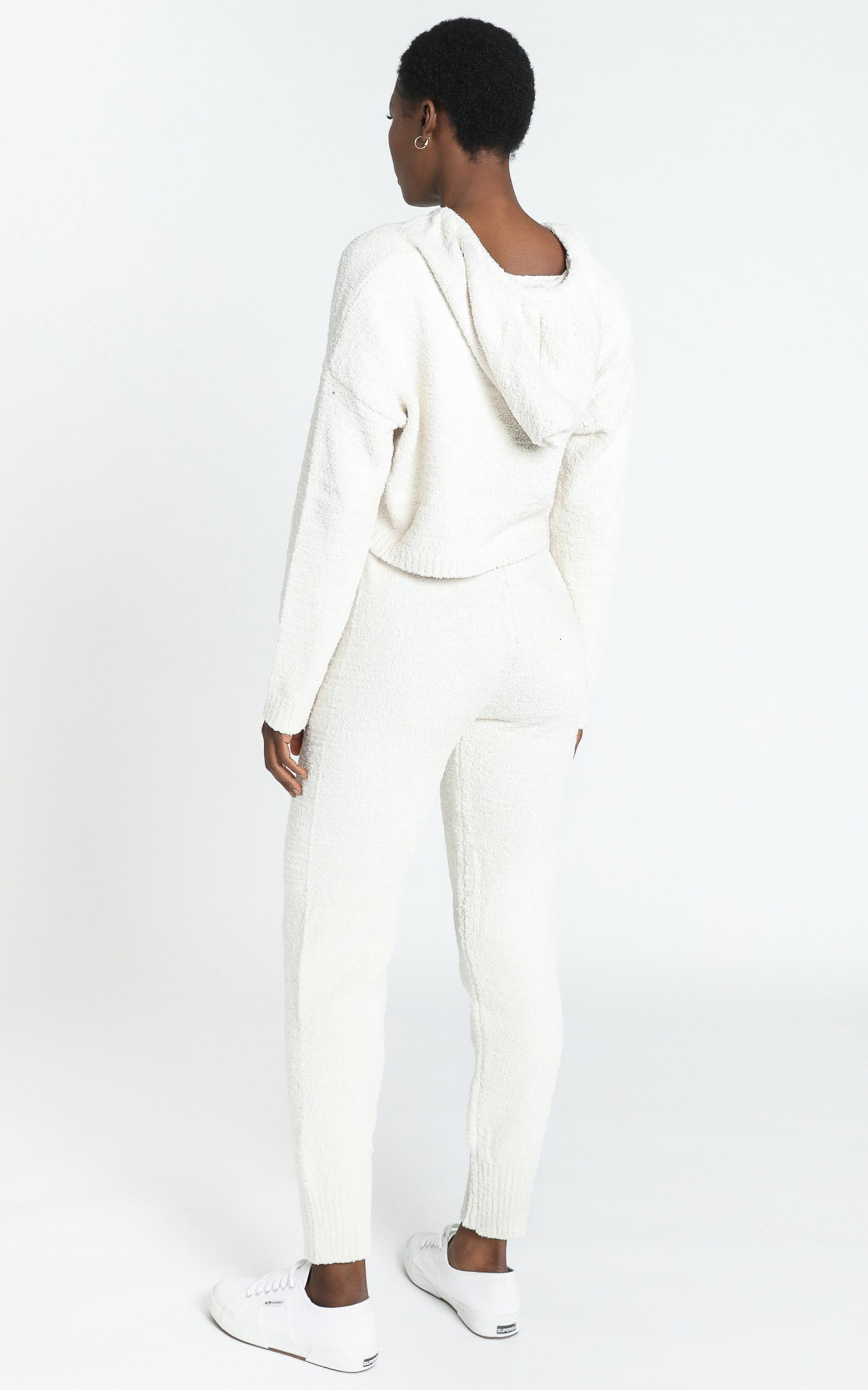 Adelie Super Soft Knit Pants in Cream - S, Cream, hi-res image number null