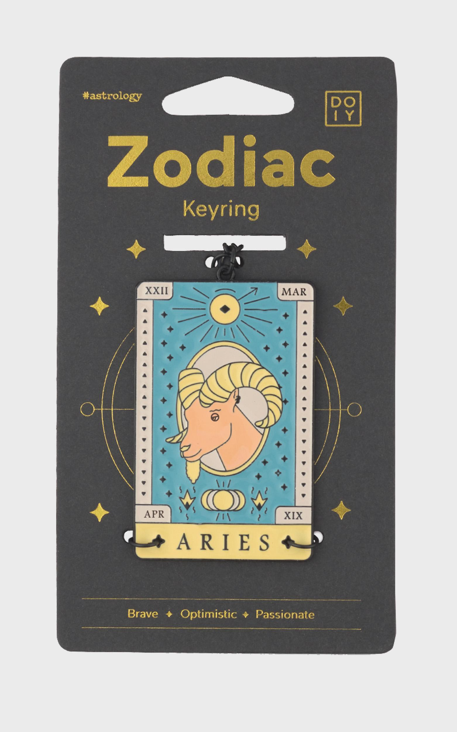 Doiy - Zodiac Keychain in Aries, , hi-res image number null