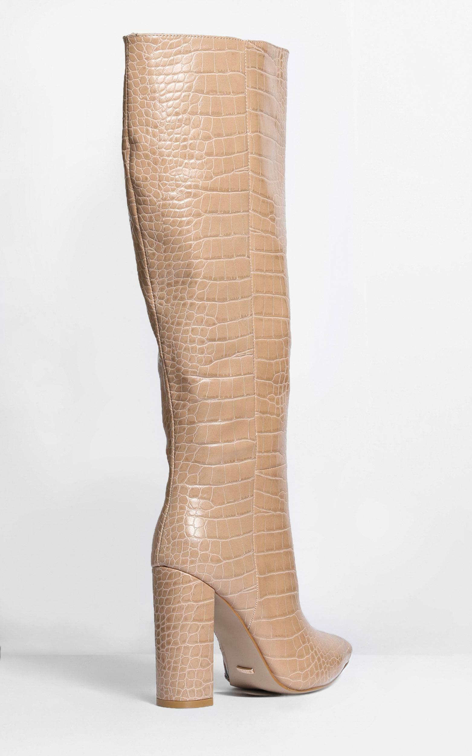 Billini - Milla Boots in nude croc - 5, Beige, hi-res image number null