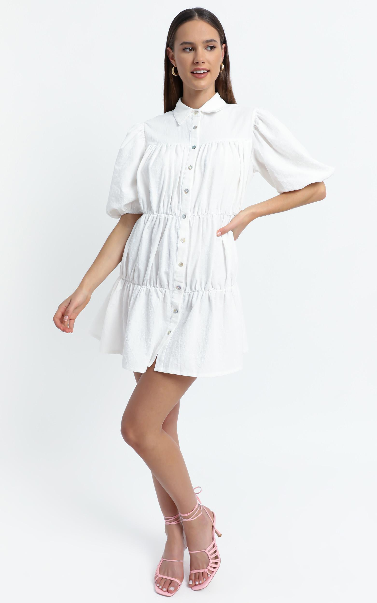Bijou Dress in White - 6 (XS), WHT1, hi-res image number null