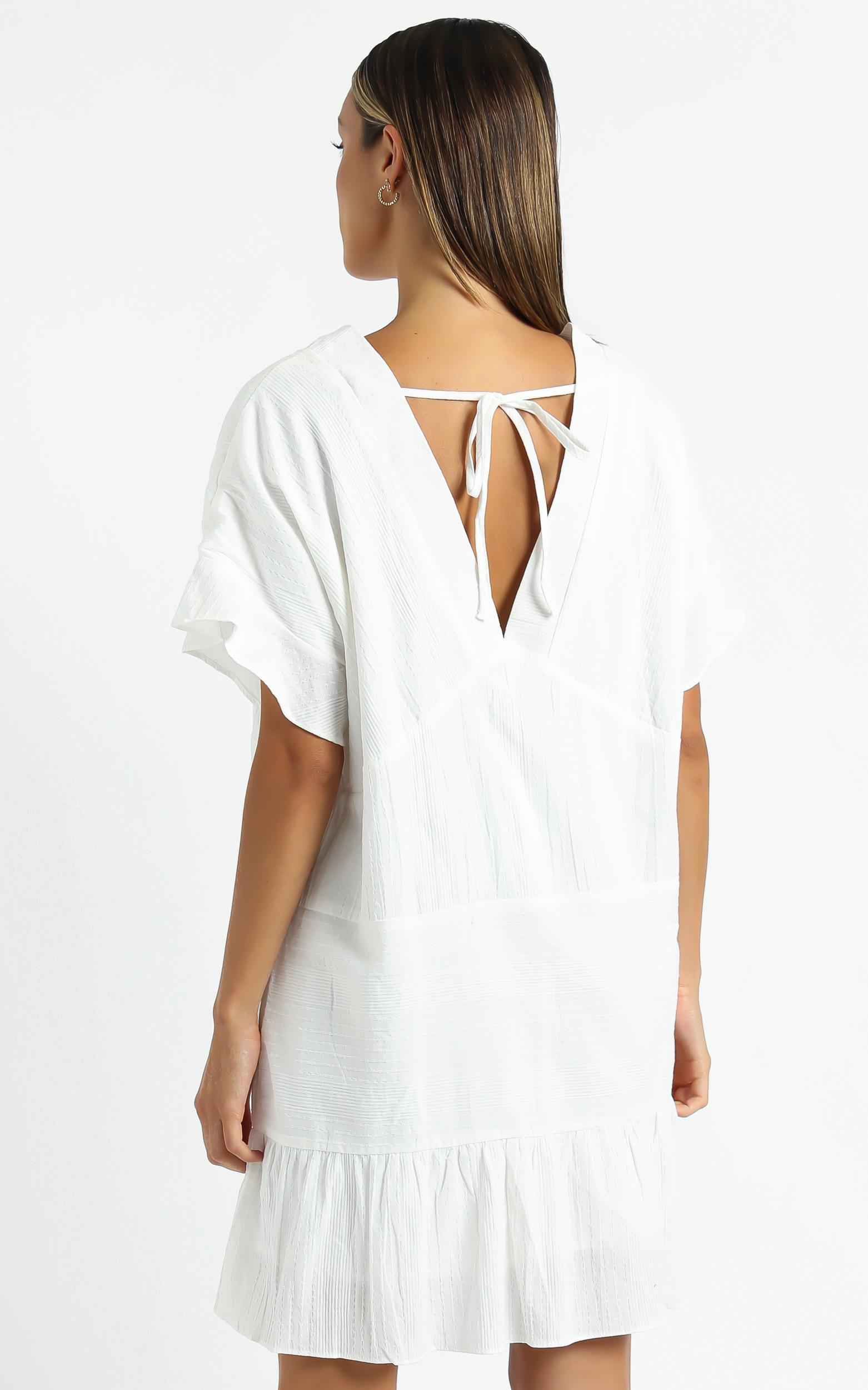 Florida Dress in  White - 6 (XS), White, hi-res image number null