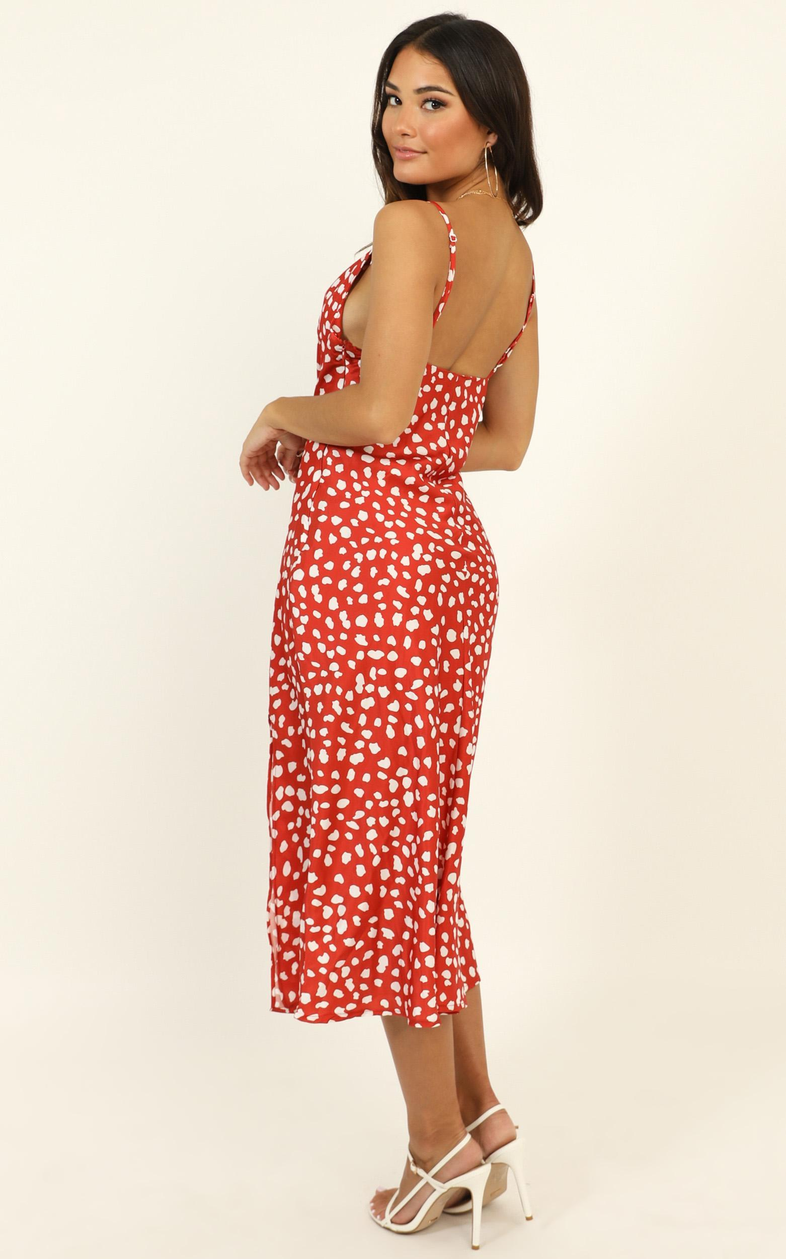 Best Game dress in red spot- 12 (L), Red, hi-res image number null