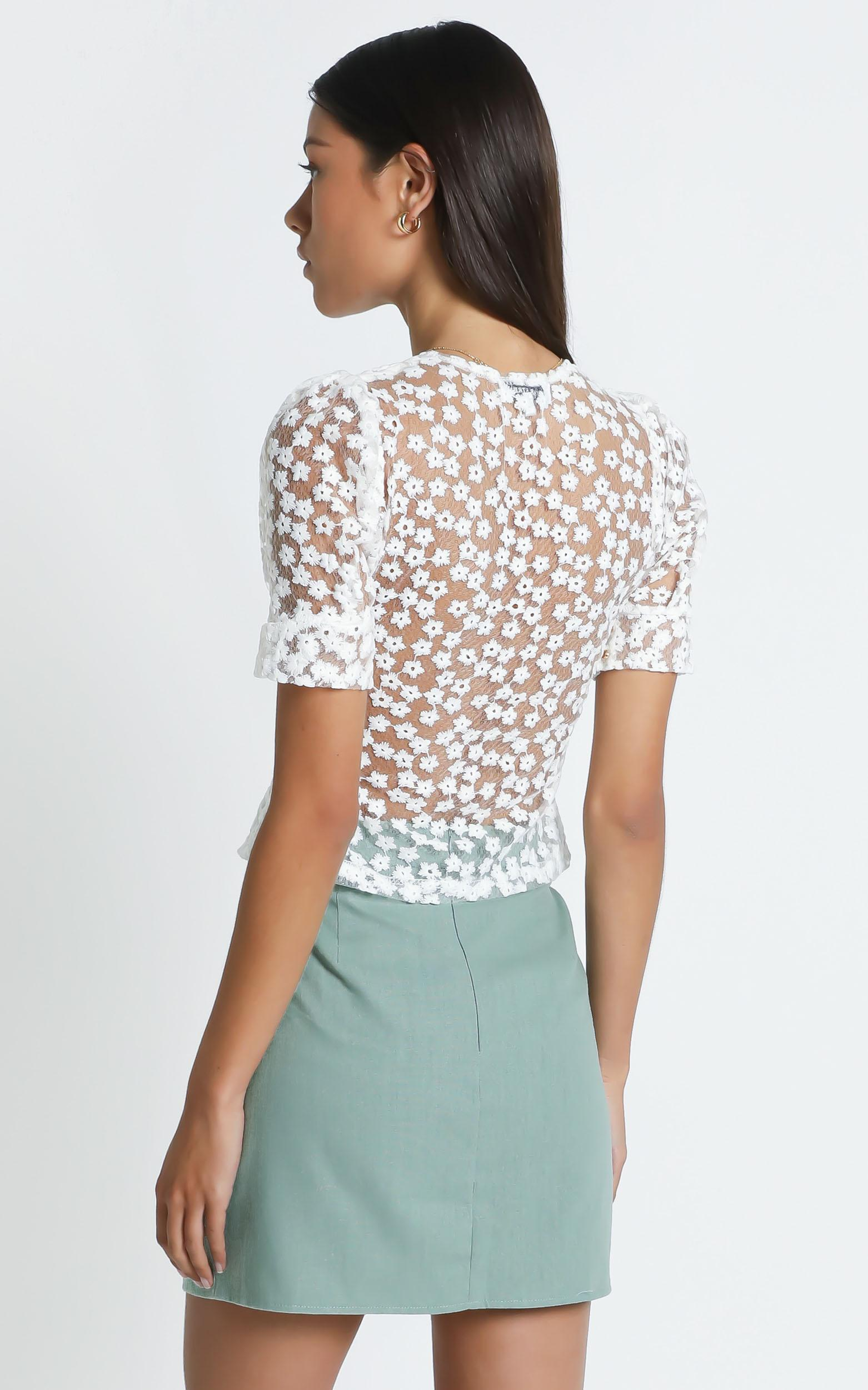 Cici Top in White - 10 (M), White, hi-res image number null