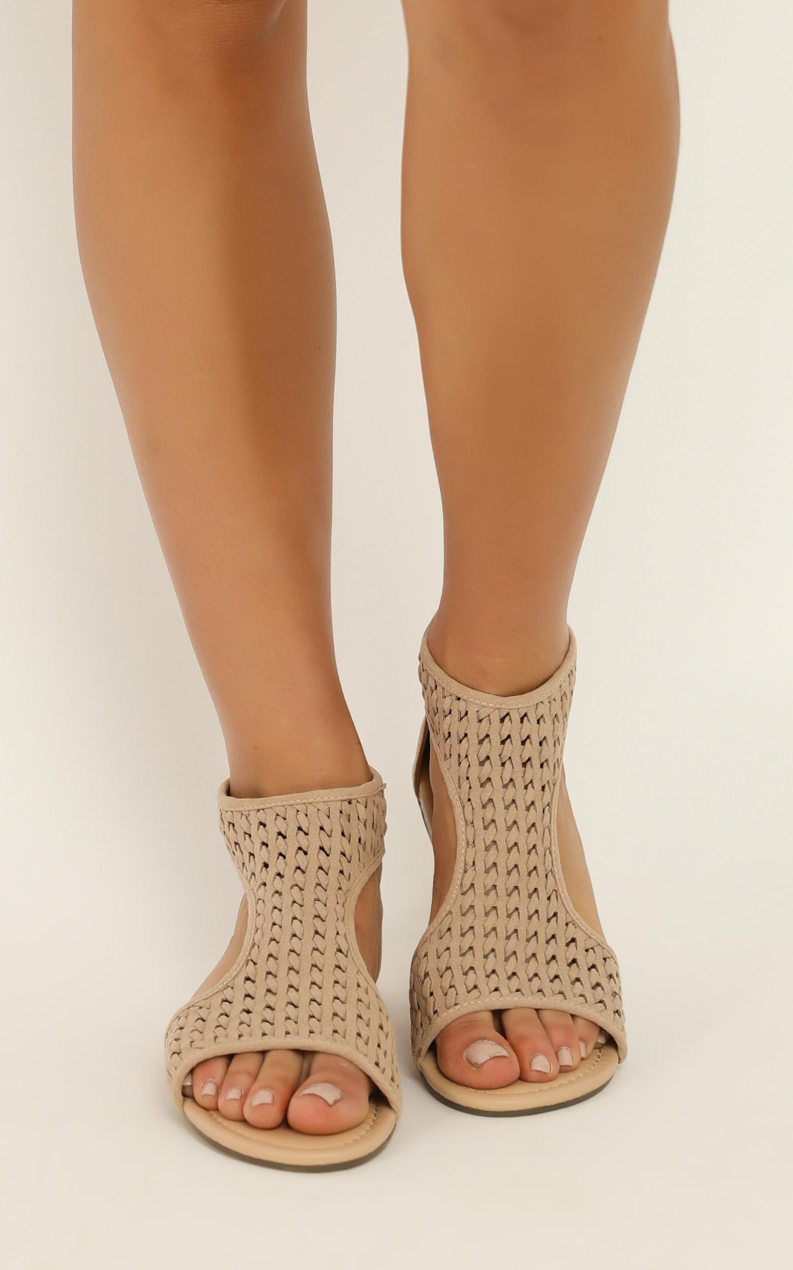 Therapy - La Boca Sandals in cashew micro - 9, Beige, hi-res image number null