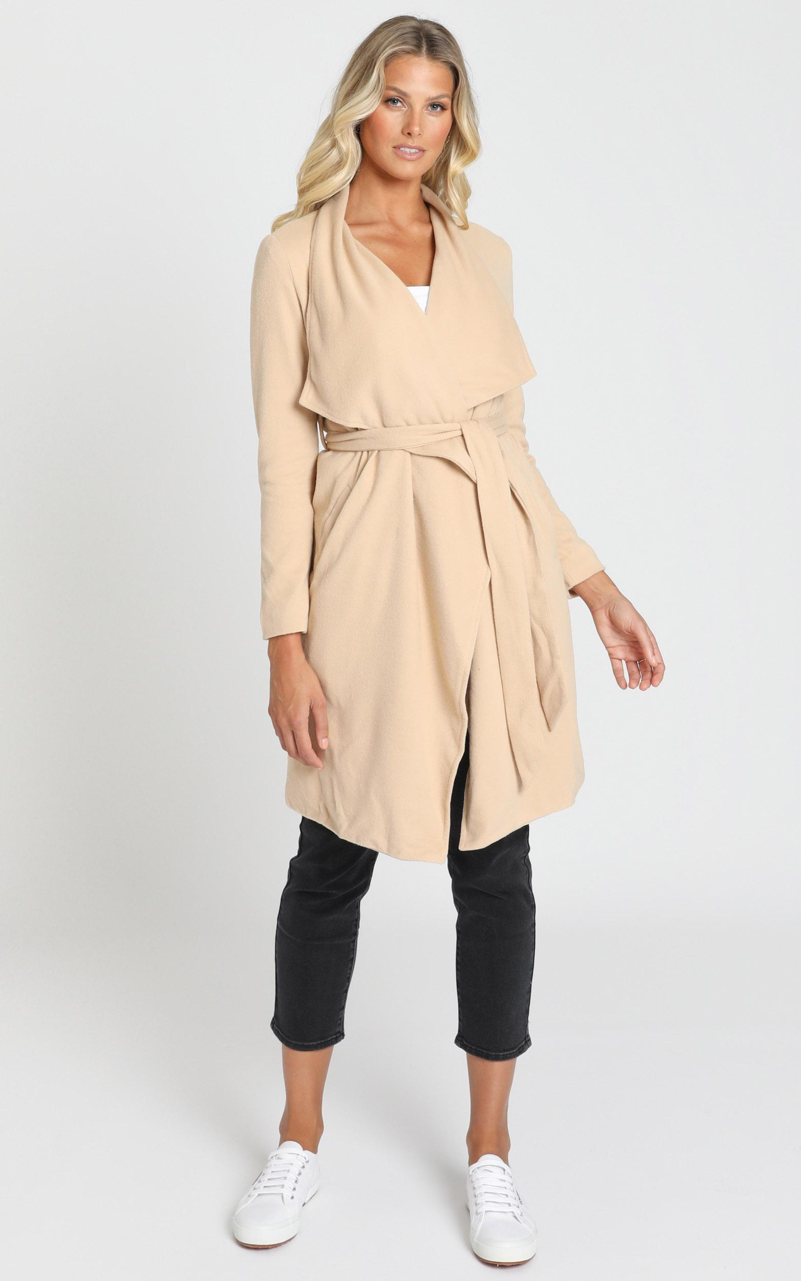 Feeling Lucky coat in camel - 20 (XXXXL), Camel, hi-res image number null