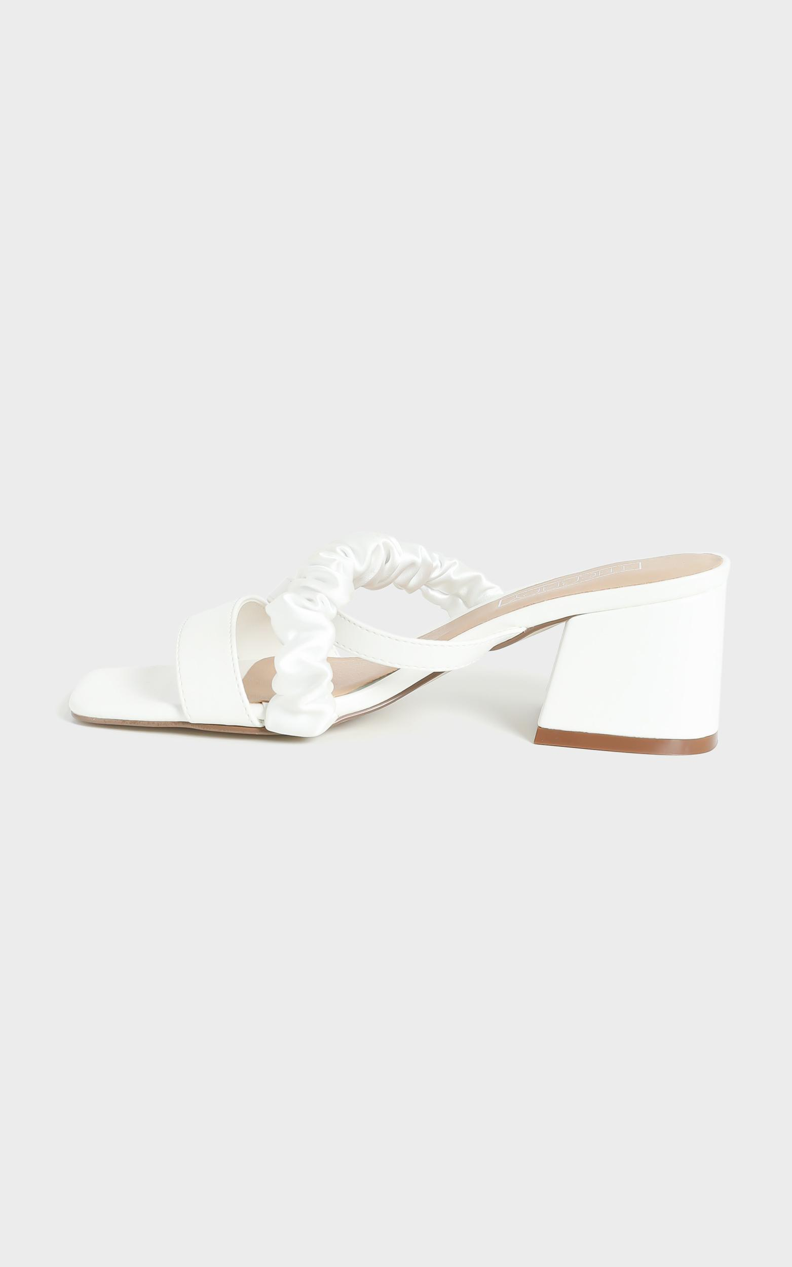 Therapy - Potenza Heels in White - 5, White, hi-res image number null