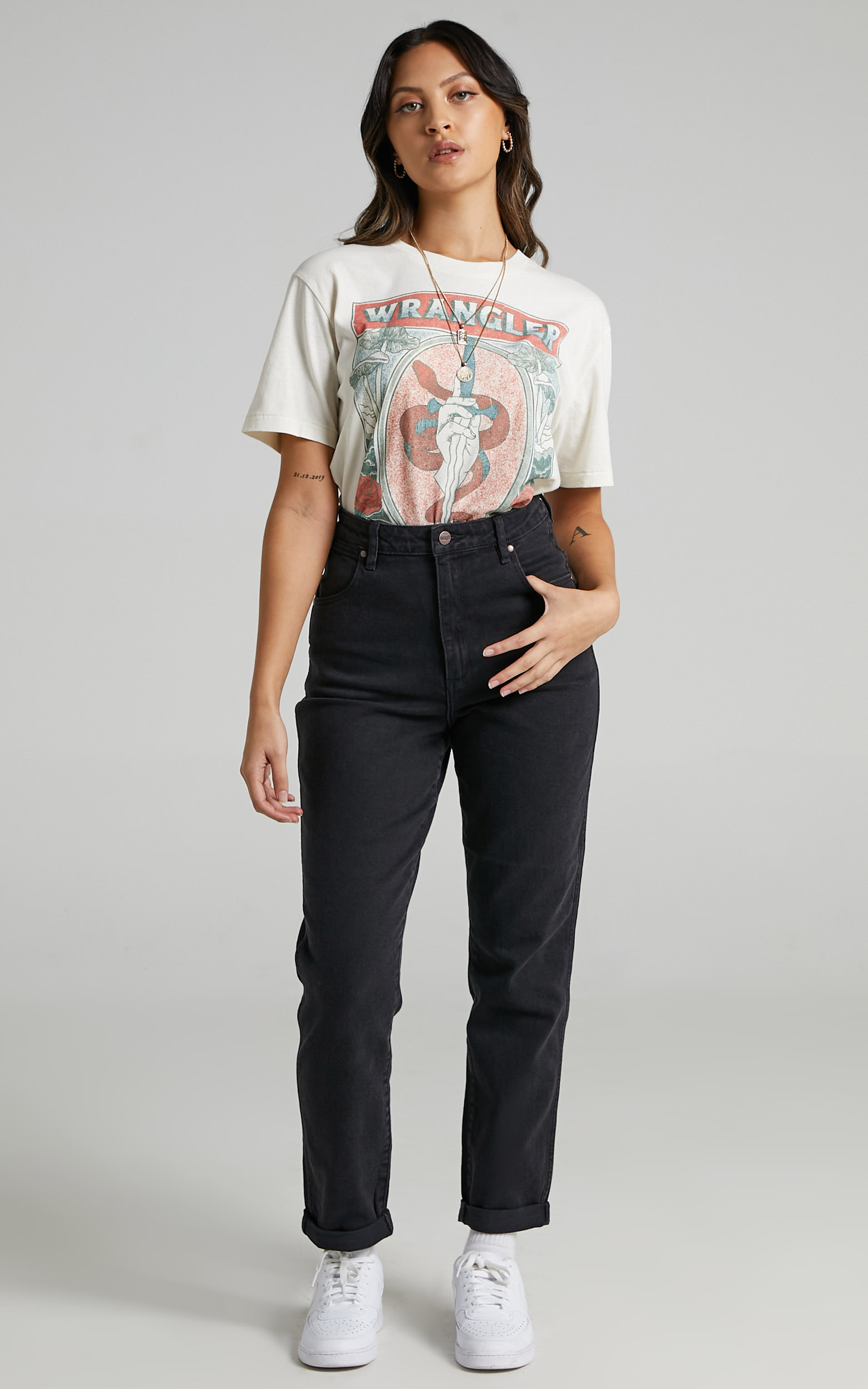 Wrangler - Tyler Jean in Midnight Stone - 06, BLK1, hi-res image number null