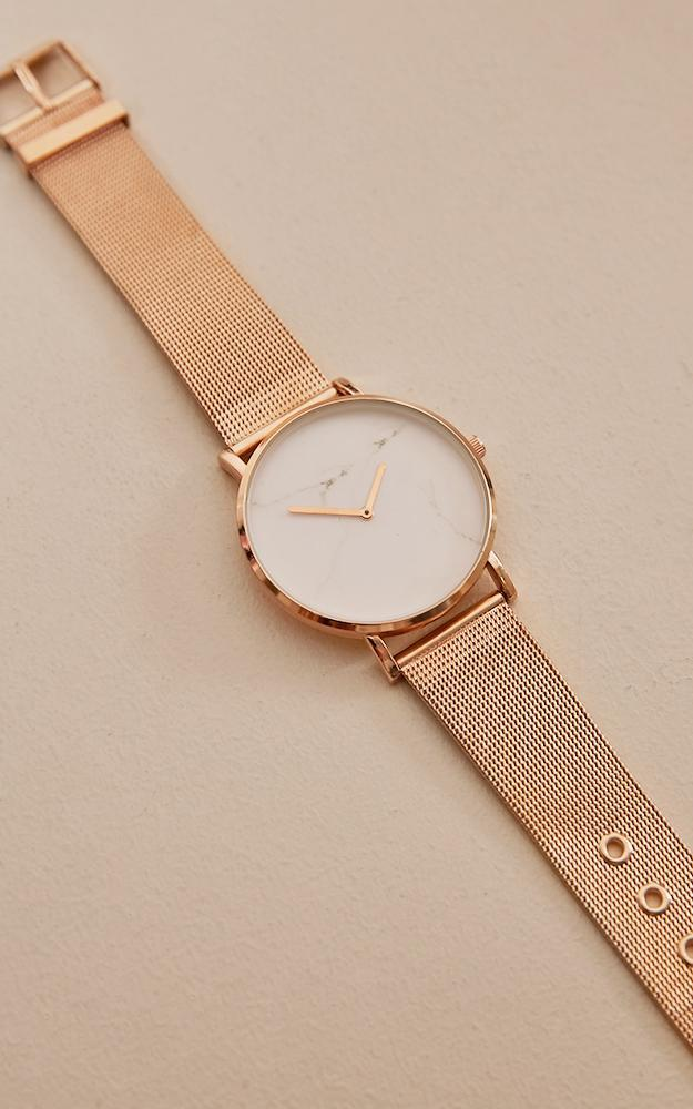 Tick Tock Watch In Rose Gold, , hi-res image number null