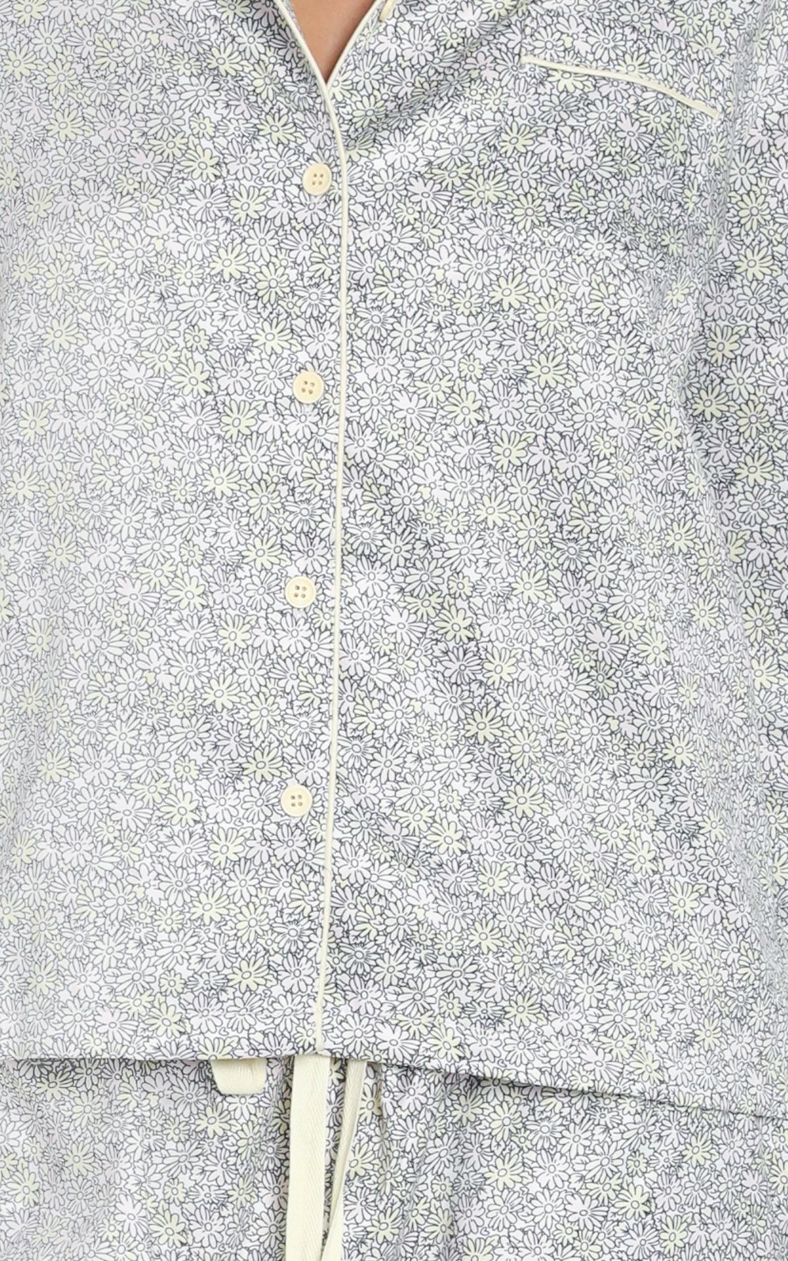 Project REM Pyjama Set in Ditsy Floral - 12 (L), Grey, hi-res image number null