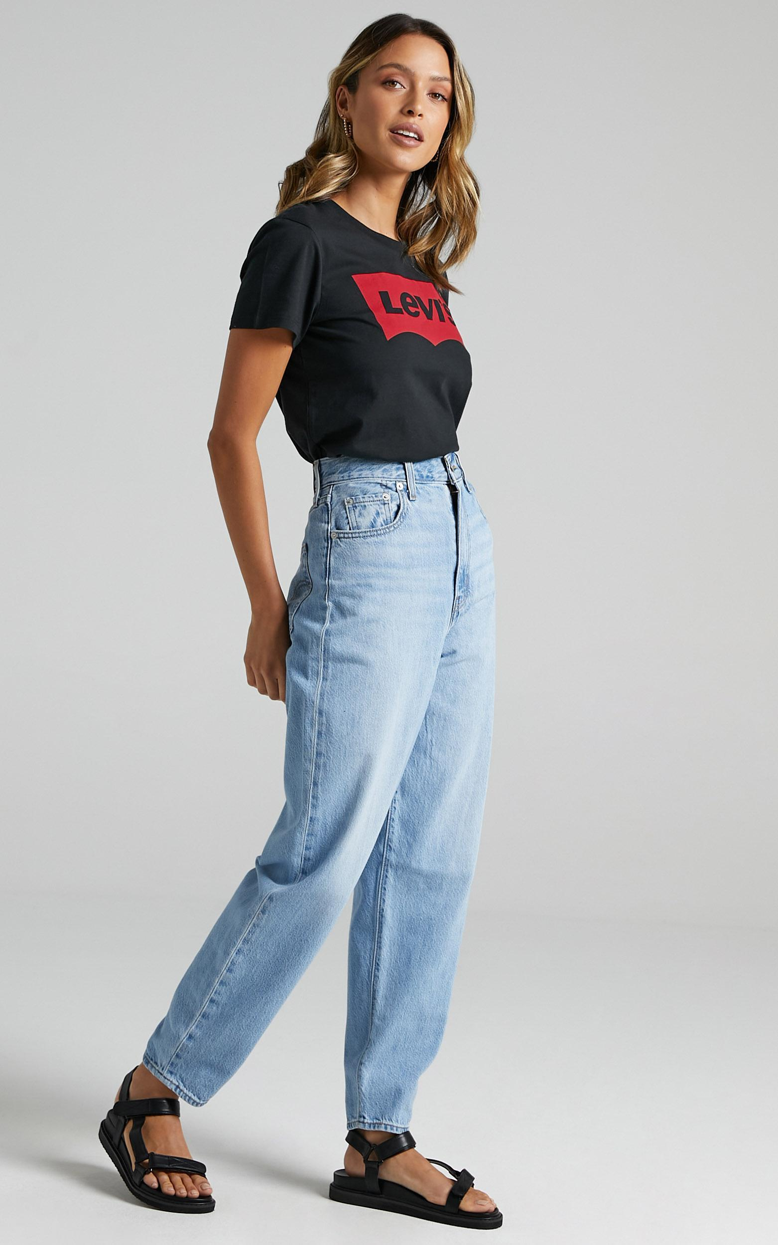 Levis - High Loose Taper Jean in Way Out Tencel - 6 (XS), Blue, hi-res image number null