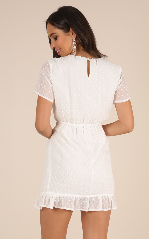 Perfect Solution dress in white - 4 (XXS), White, hi-res image number null