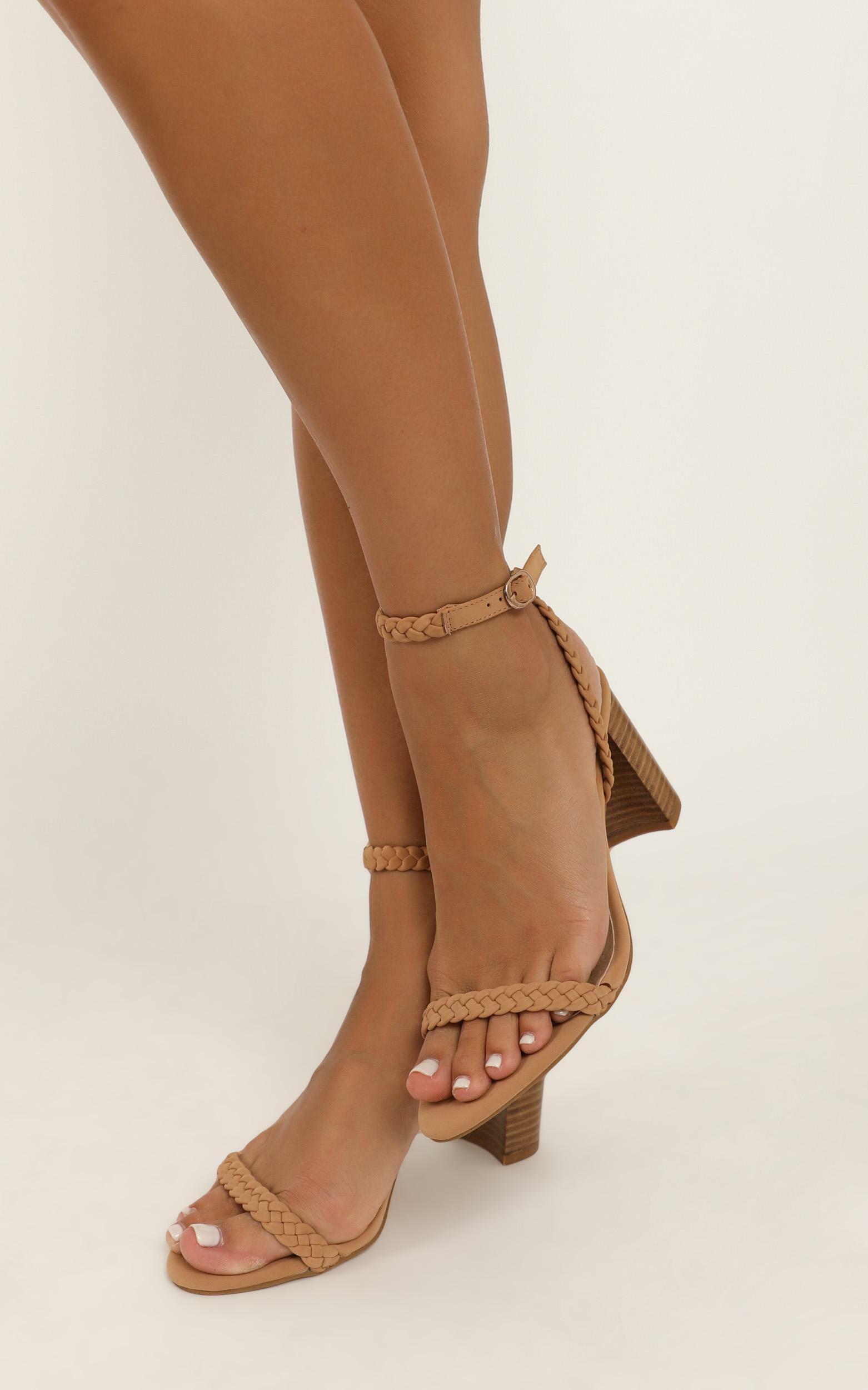 Billini - Rita heels in camel nubuck - 10, Camel, hi-res image number null