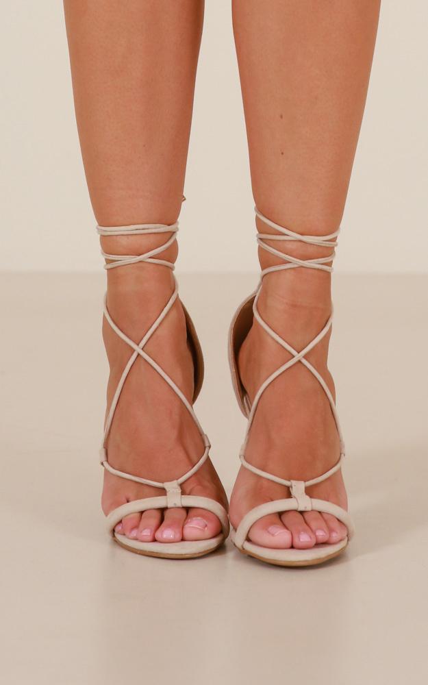 Billini - Casta Heels in nude micro - 5, Beige, hi-res image number null