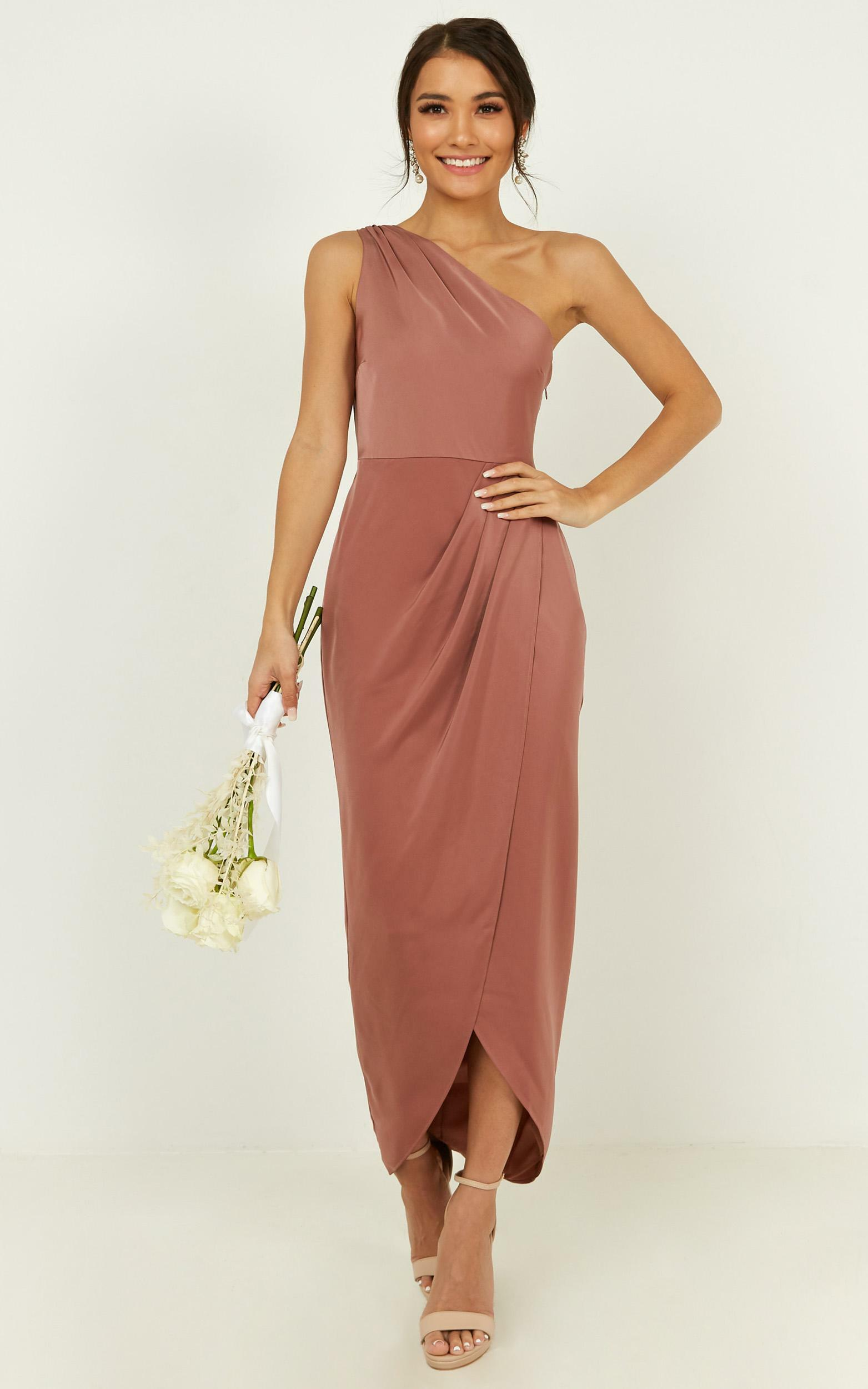 Felt So Happy Dress in dusty rose - 14 (XL), Pink, hi-res image number null