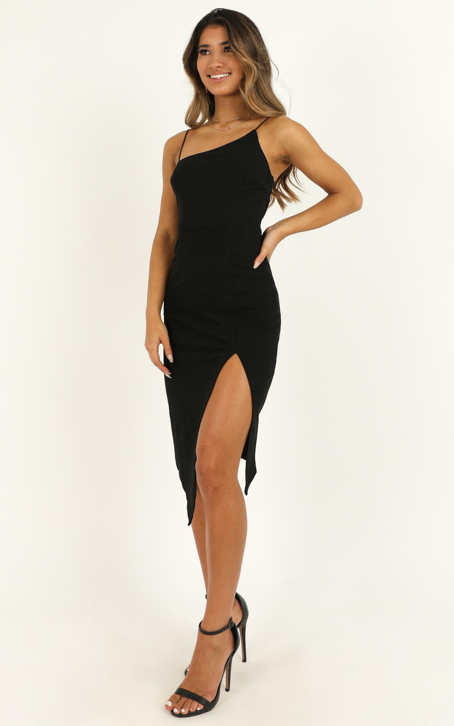 Life Changing Dress In Black - 4 (XXS), Black, hi-res image number null