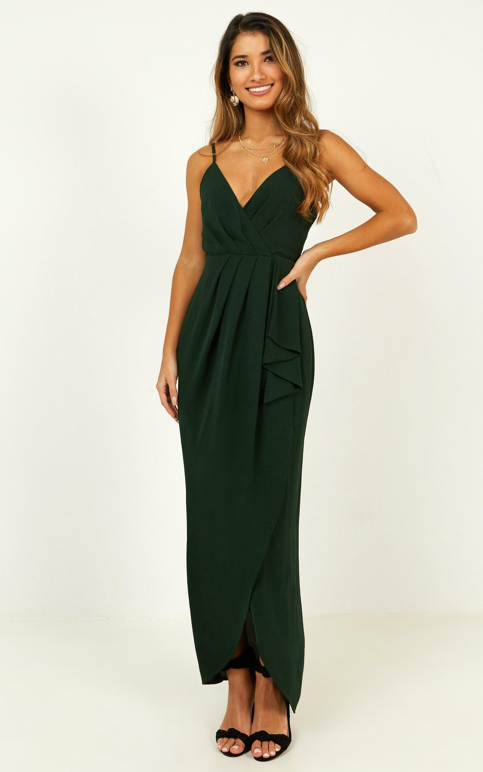 Gave Me You Dress in emerald - 14 (XL), GRN7, hi-res image number null