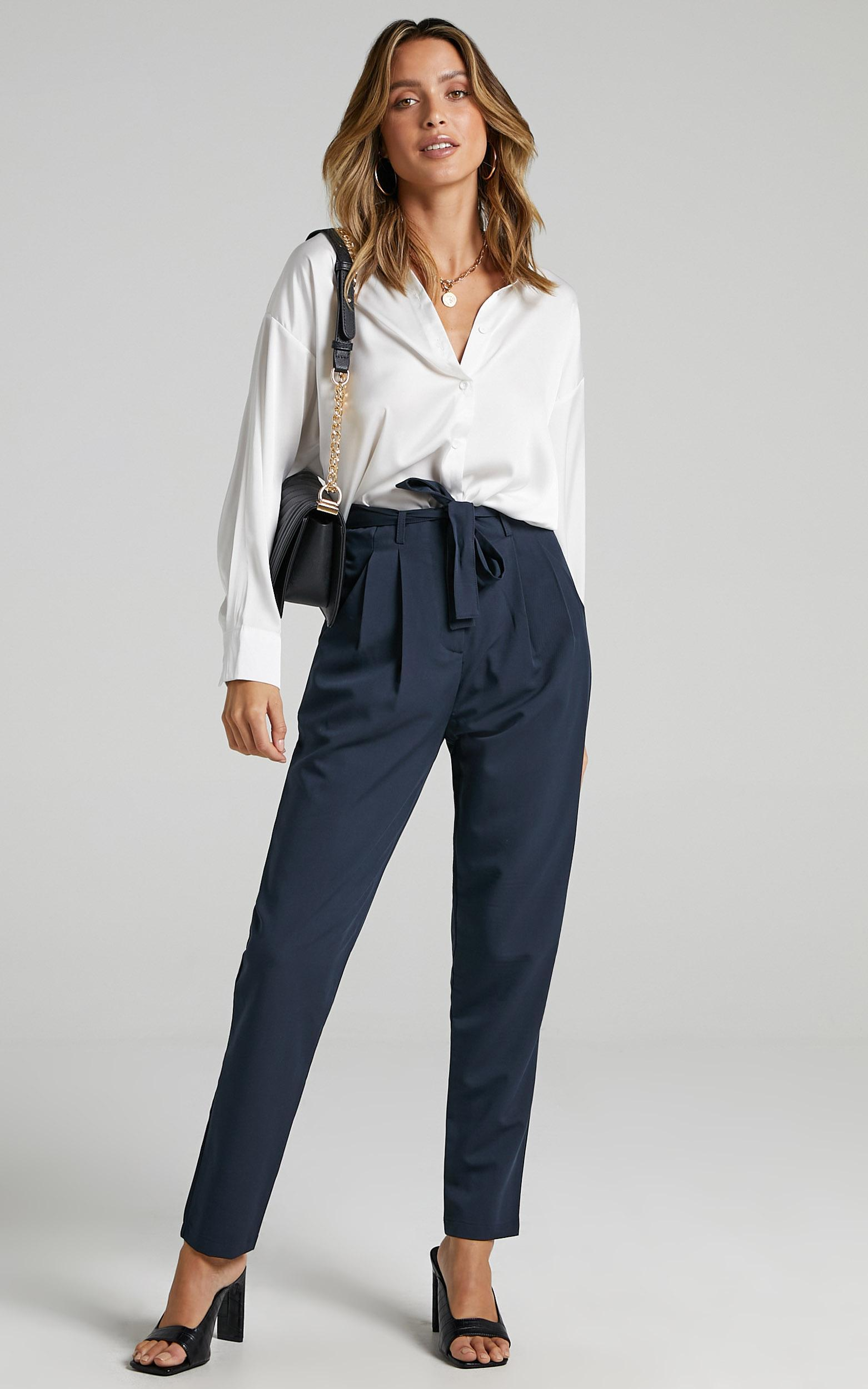 Building My Empire Pants in Navy - 06, NVY2, hi-res image number null
