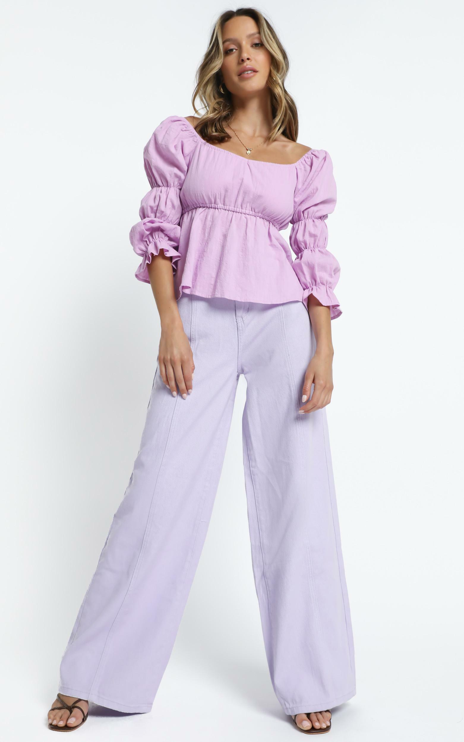 Mullins Top in Lilac - 14 (XL), Purple, hi-res image number null