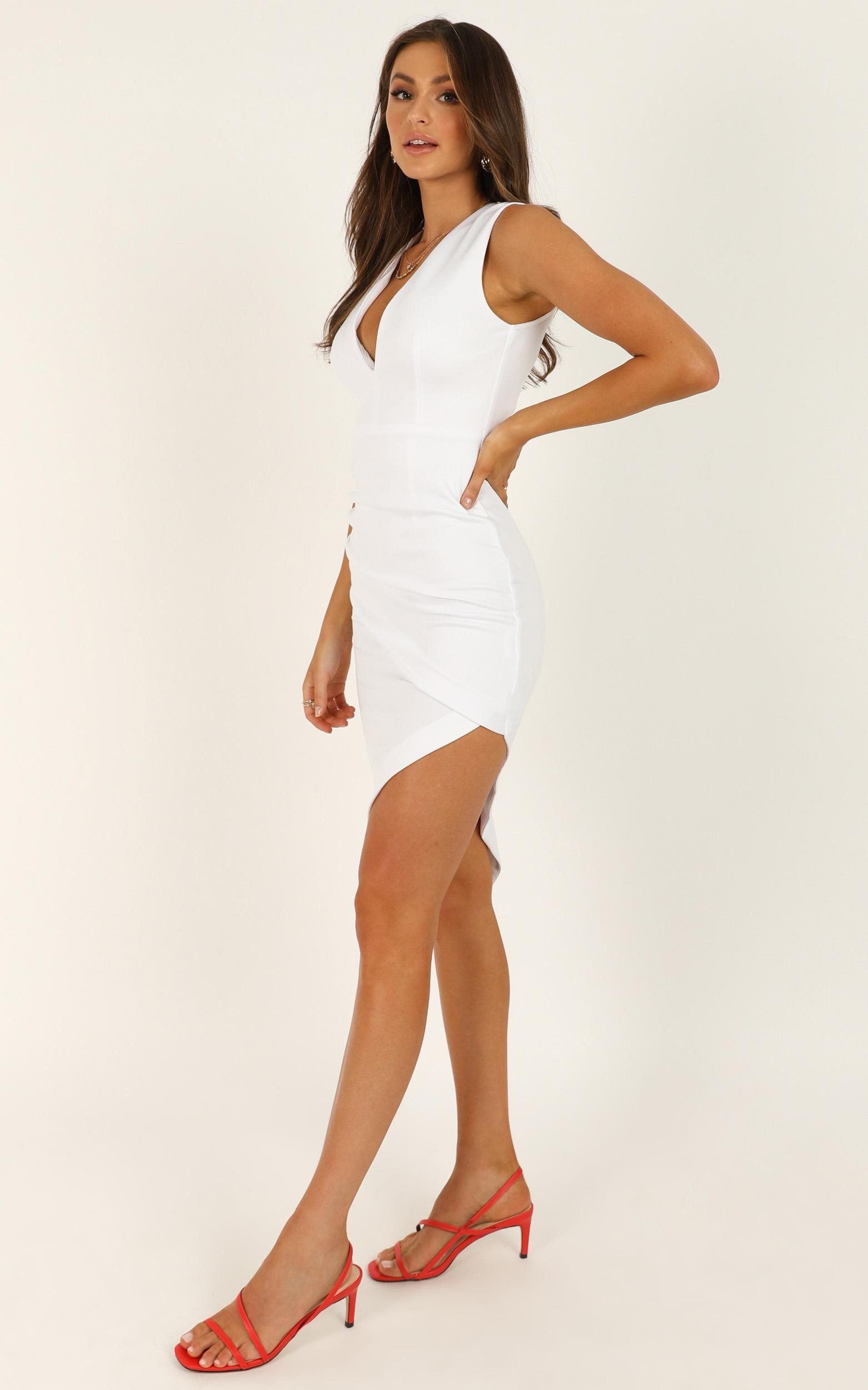 Pearly Whites dress in white - 14 (XL), White, hi-res image number null