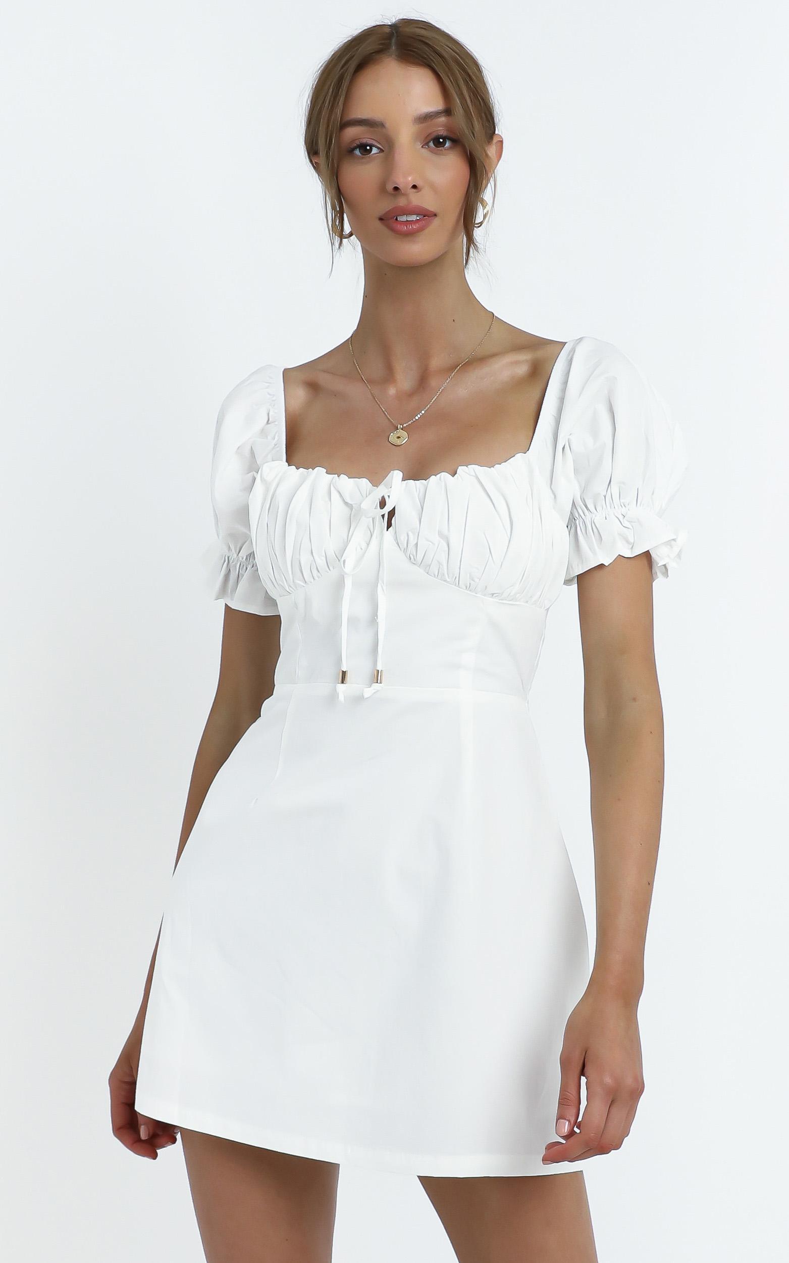 Marisa Dress in White - 12 (L), White, hi-res image number null
