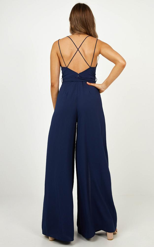 Something Just Like This Jumpsuit in navy - 14 (XL), Navy, hi-res image number null