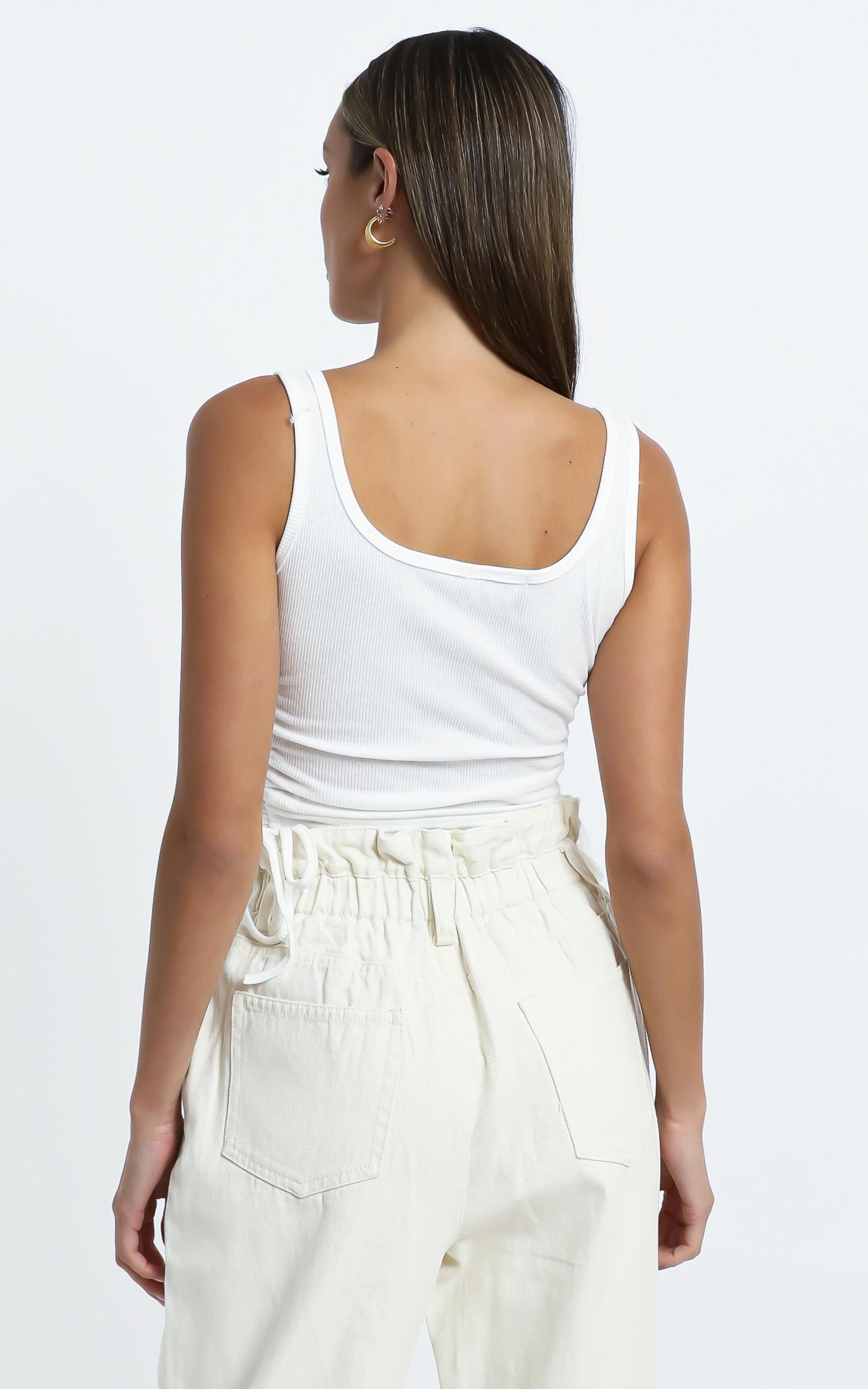 Jackson Top in White - 12 (L), White, hi-res image number null