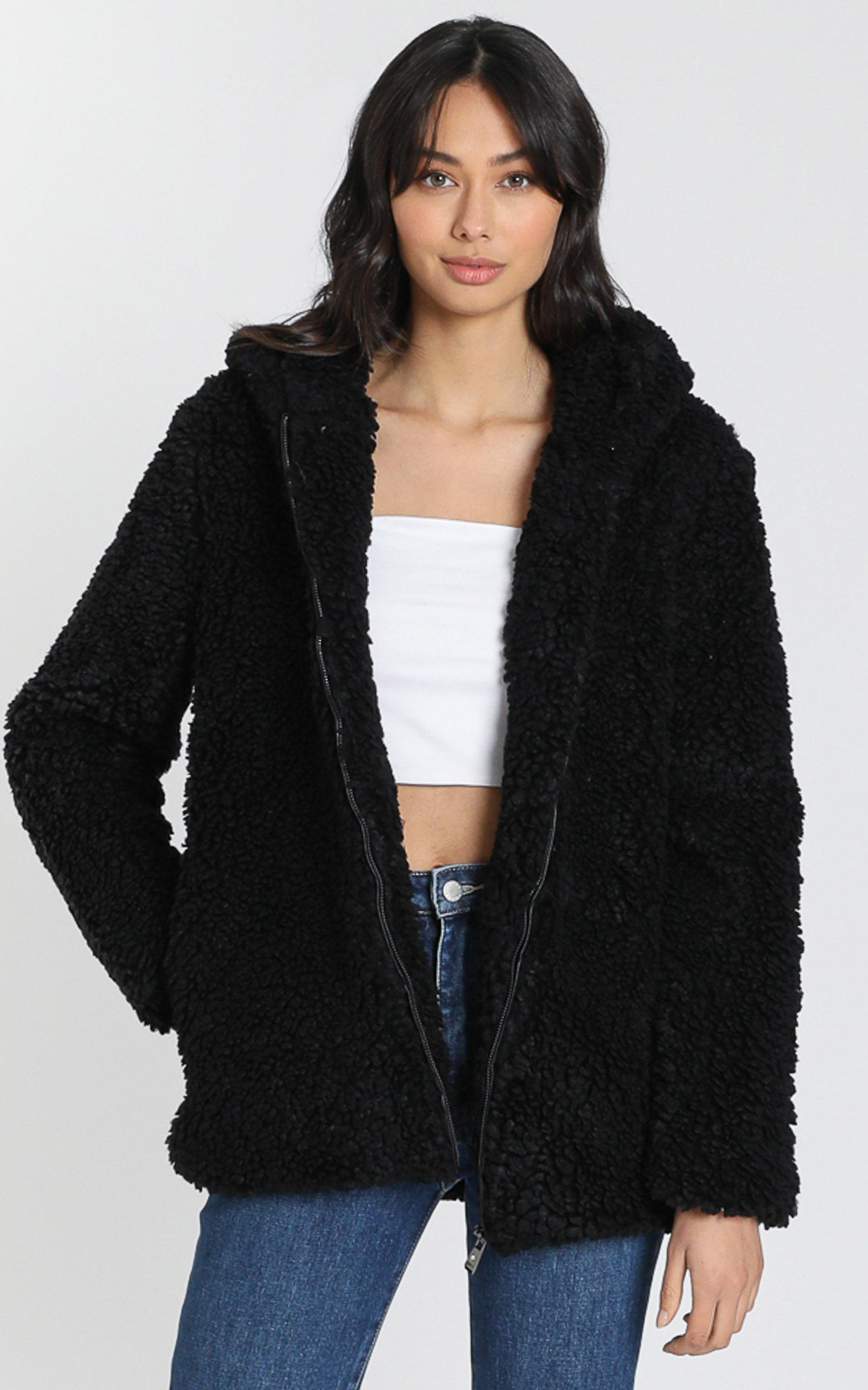Stacey Jacket in Black - S, Black, hi-res image number null