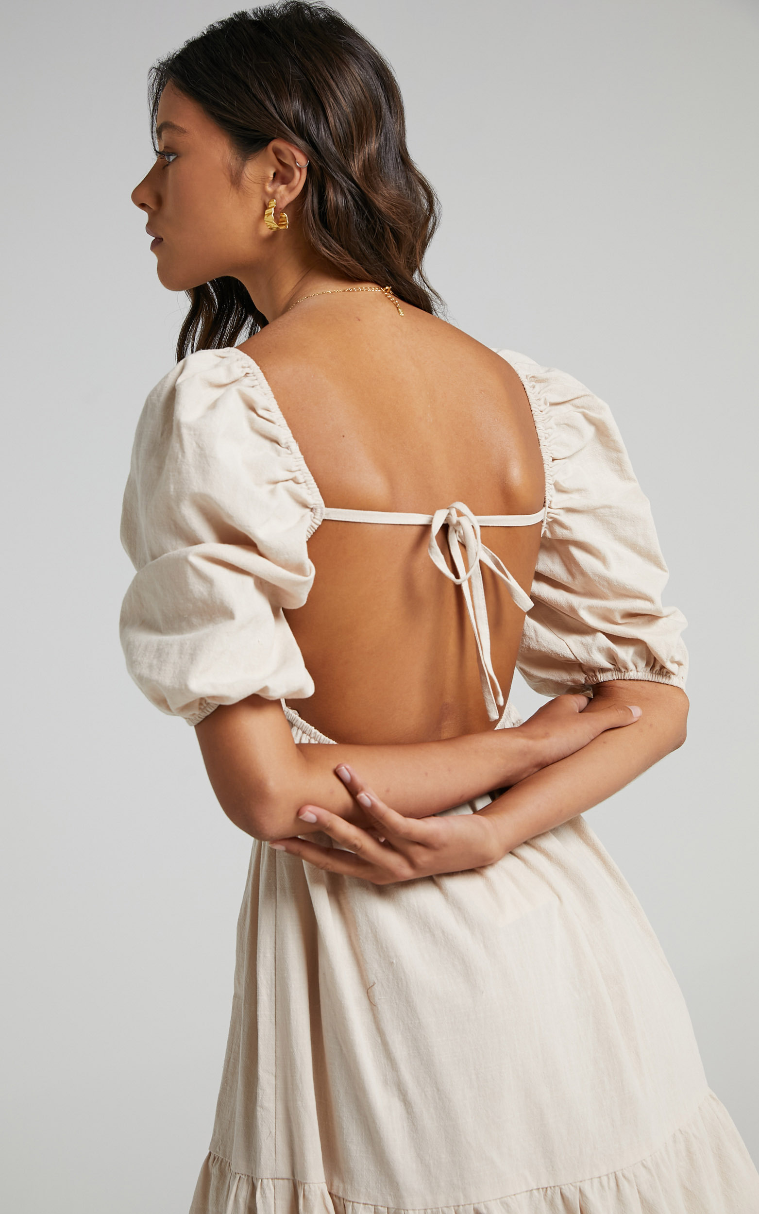 Palmer Dress in Cream - 06, CRE4, hi-res image number null