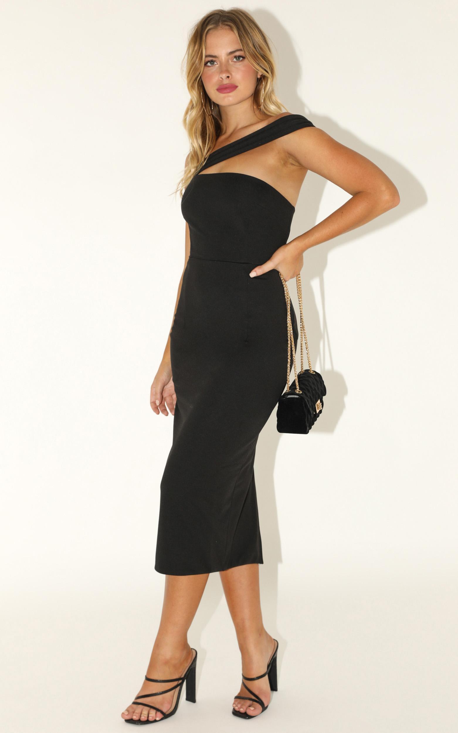 Never Lose Sight dress in black - 16 (XXL), Black, hi-res image number null