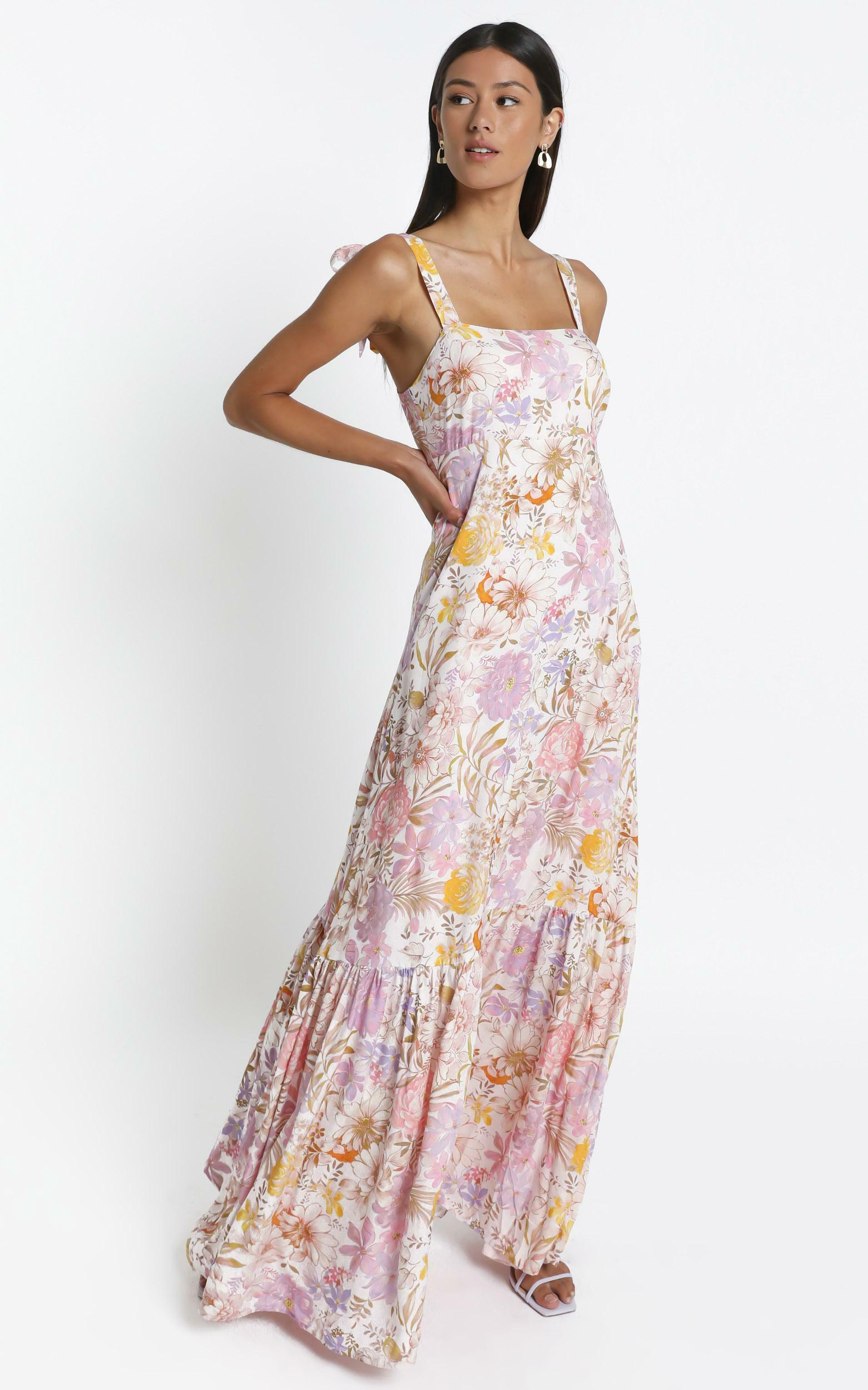 Honor Dress in Vintage Floral - 6 (XS), Cream, hi-res image number null