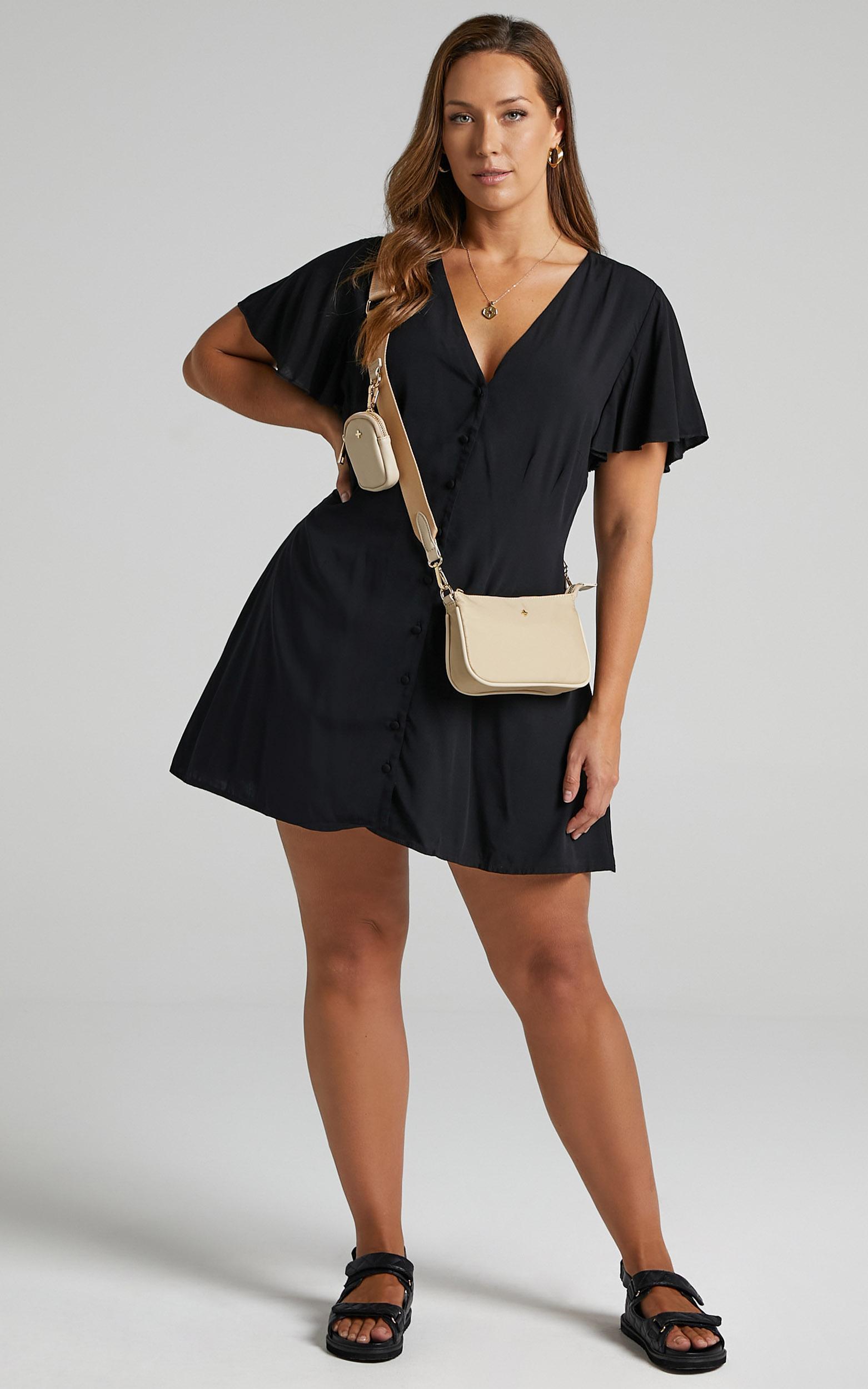 Daiquiri Dress in Black - 6 (XS), Black, hi-res image number null
