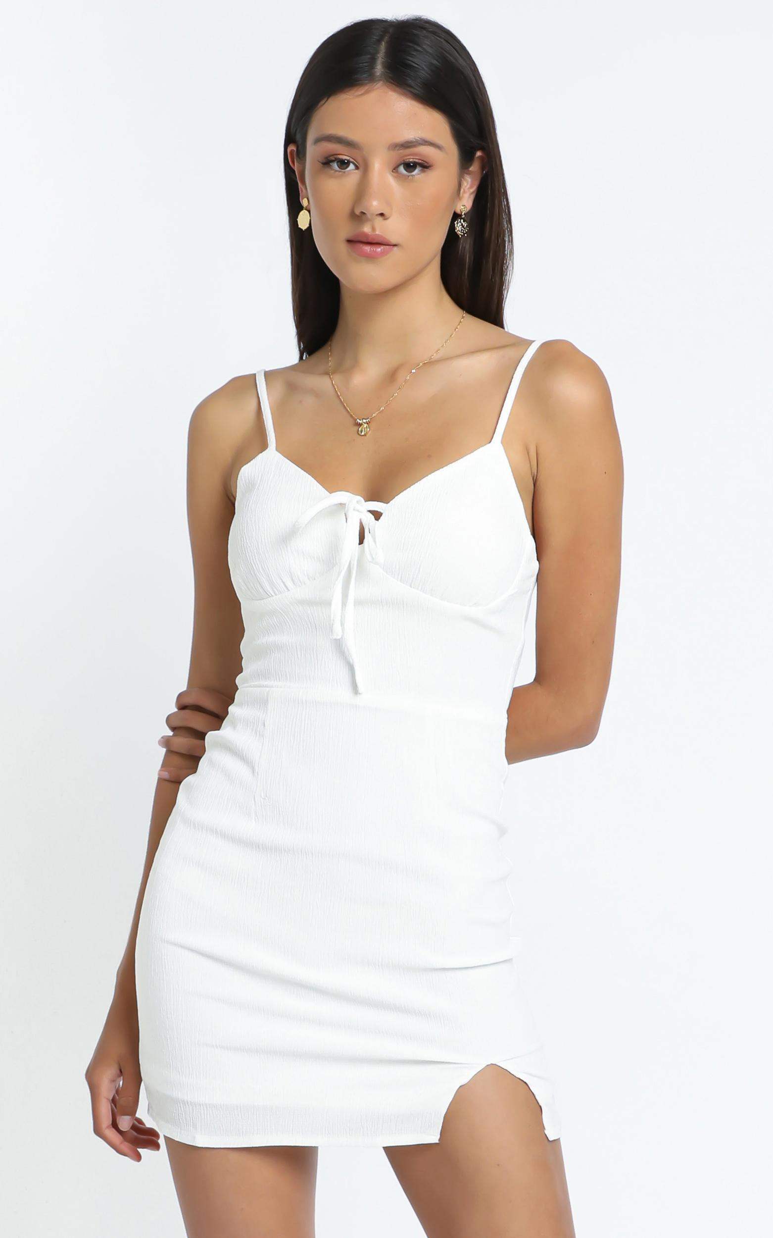 Ryder Dress in White - 12 (L), White, hi-res image number null
