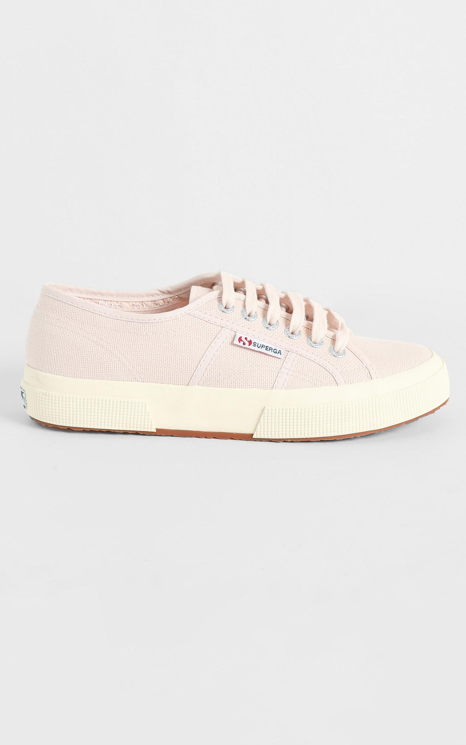 Superga - 2750 Cotu Classic Sneaker in pink peach blush - off white - 5, White, hi-res image number null