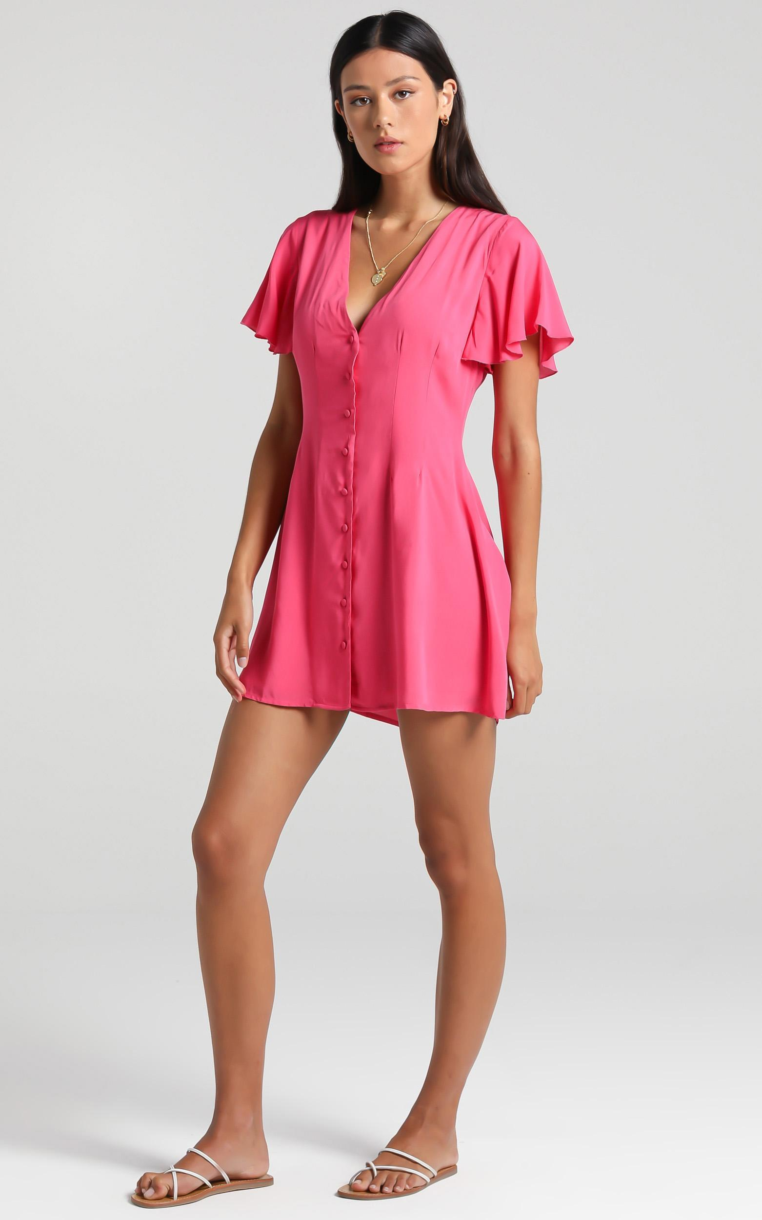Daiquiri Dress in Pink - 6 (XS), Pink, hi-res image number null