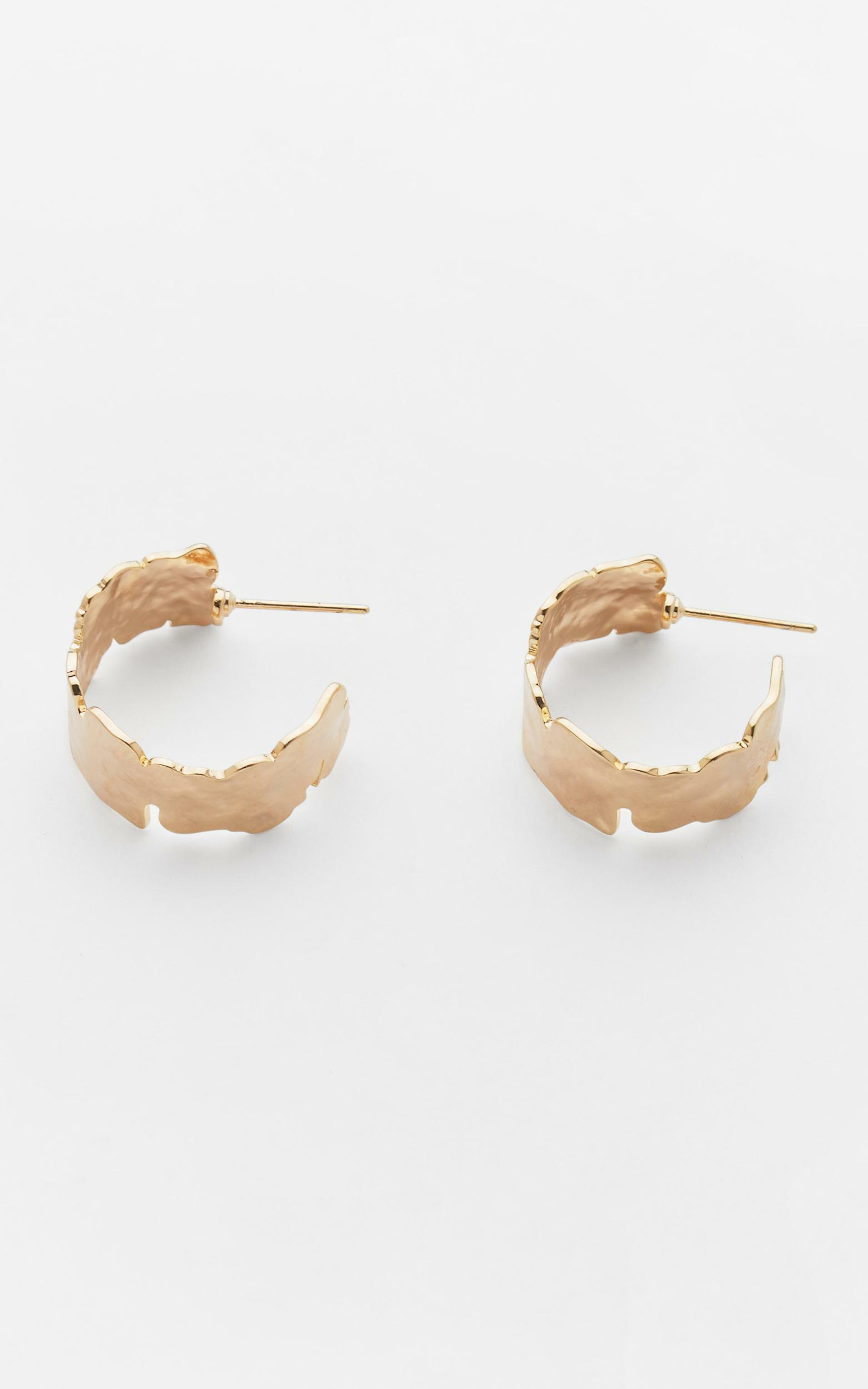 Reliquia - Cement Hoops in Gold, Gold, hi-res image number null