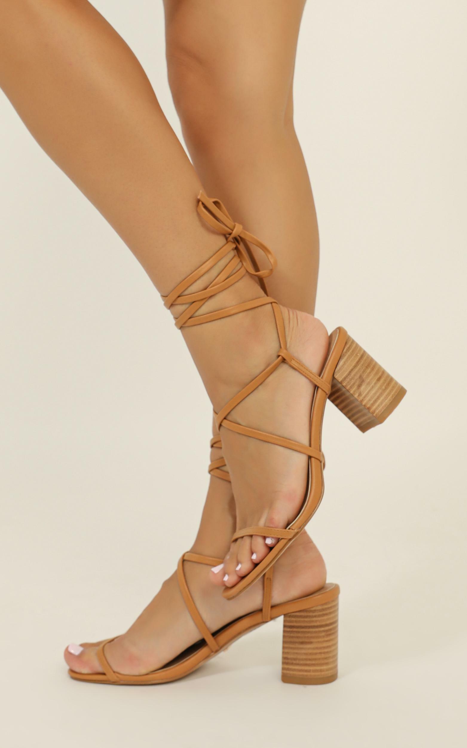 Billini - Yolanda heels in light tan - 10, Tan, hi-res image number null
