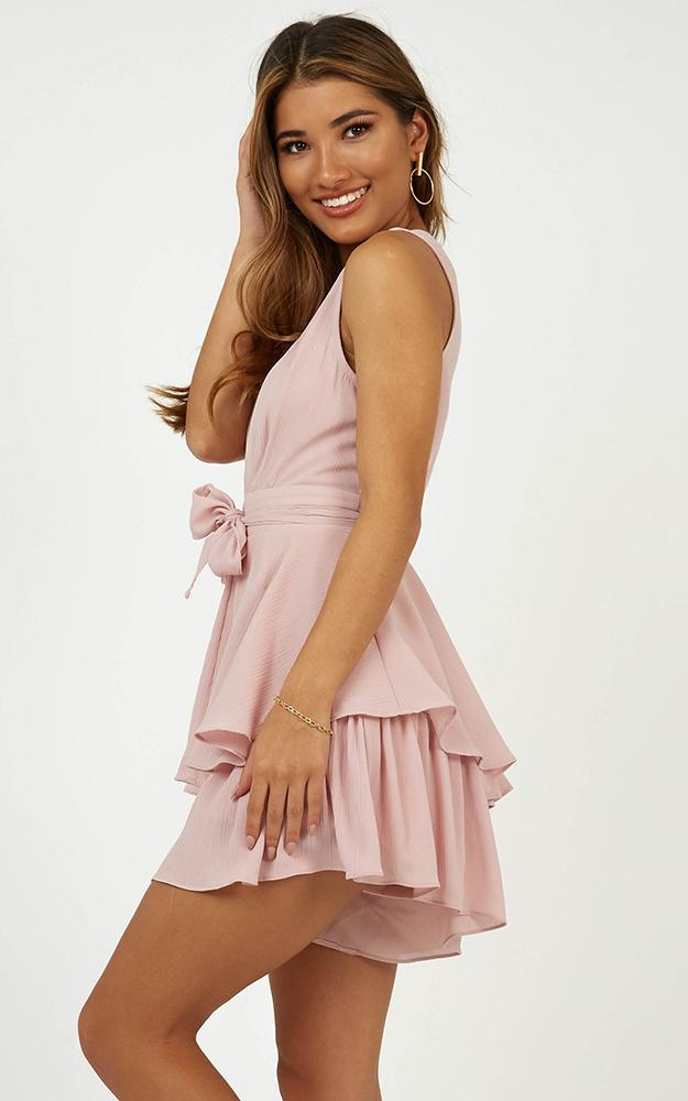Little League playsuit in blush - 14 (XL), Blush, hi-res image number null