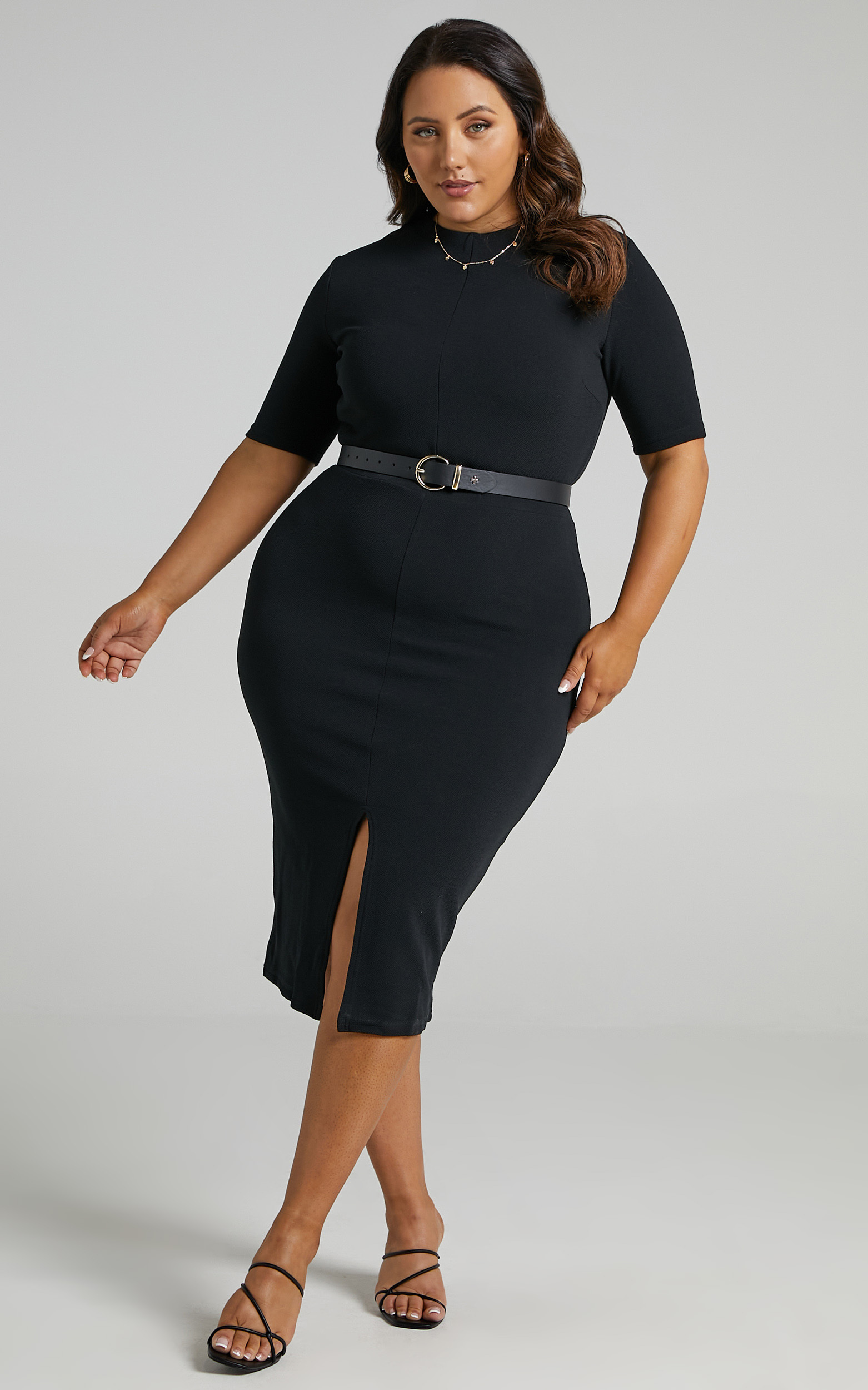 Tall Tales Dress in Black - 06, BLK1, hi-res image number null
