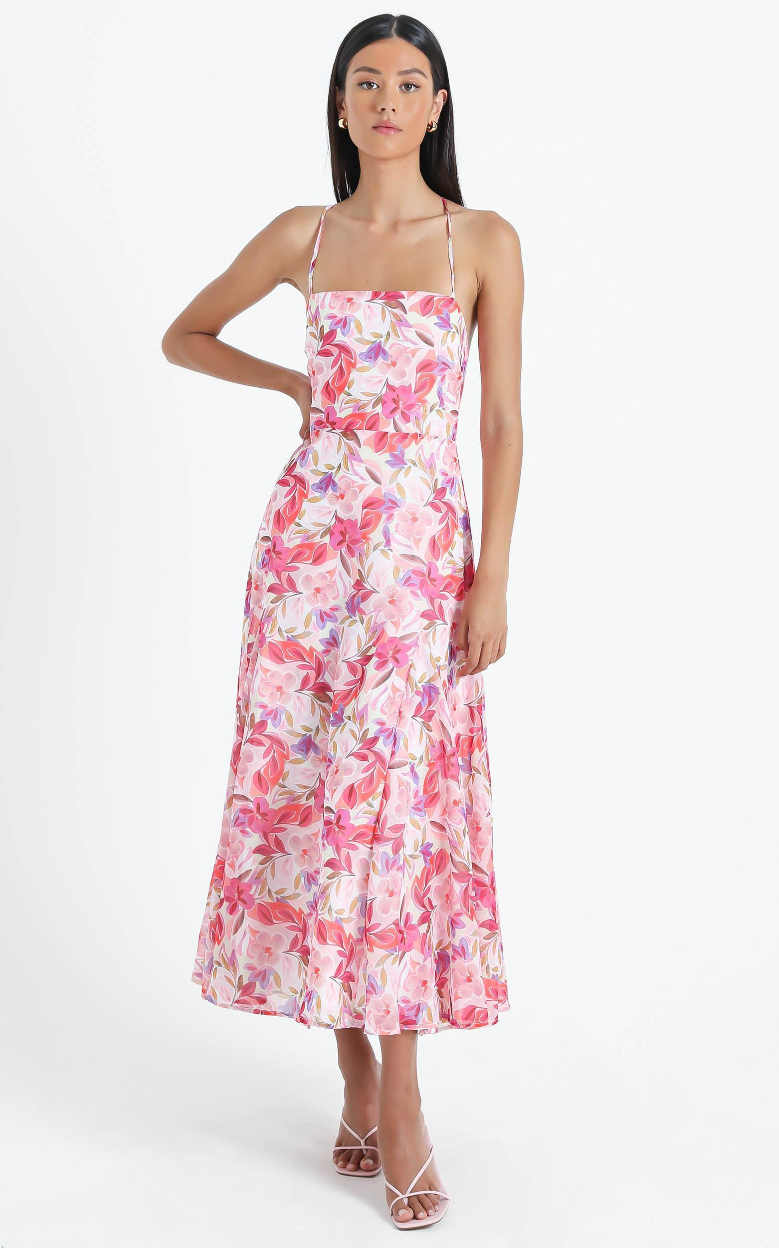 Melvin Dress in Eventful Bloom - 6 (XS), Multi, hi-res image number null