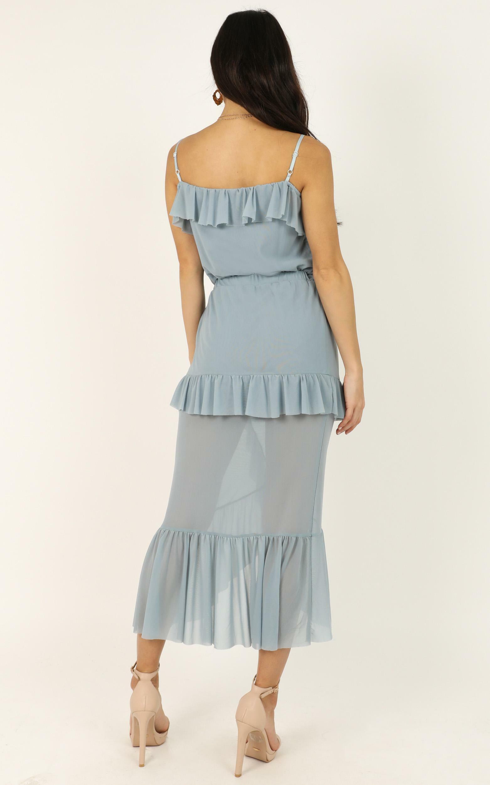 A Little Love Dress in light blue - 14 (XL), Blue, hi-res image number null