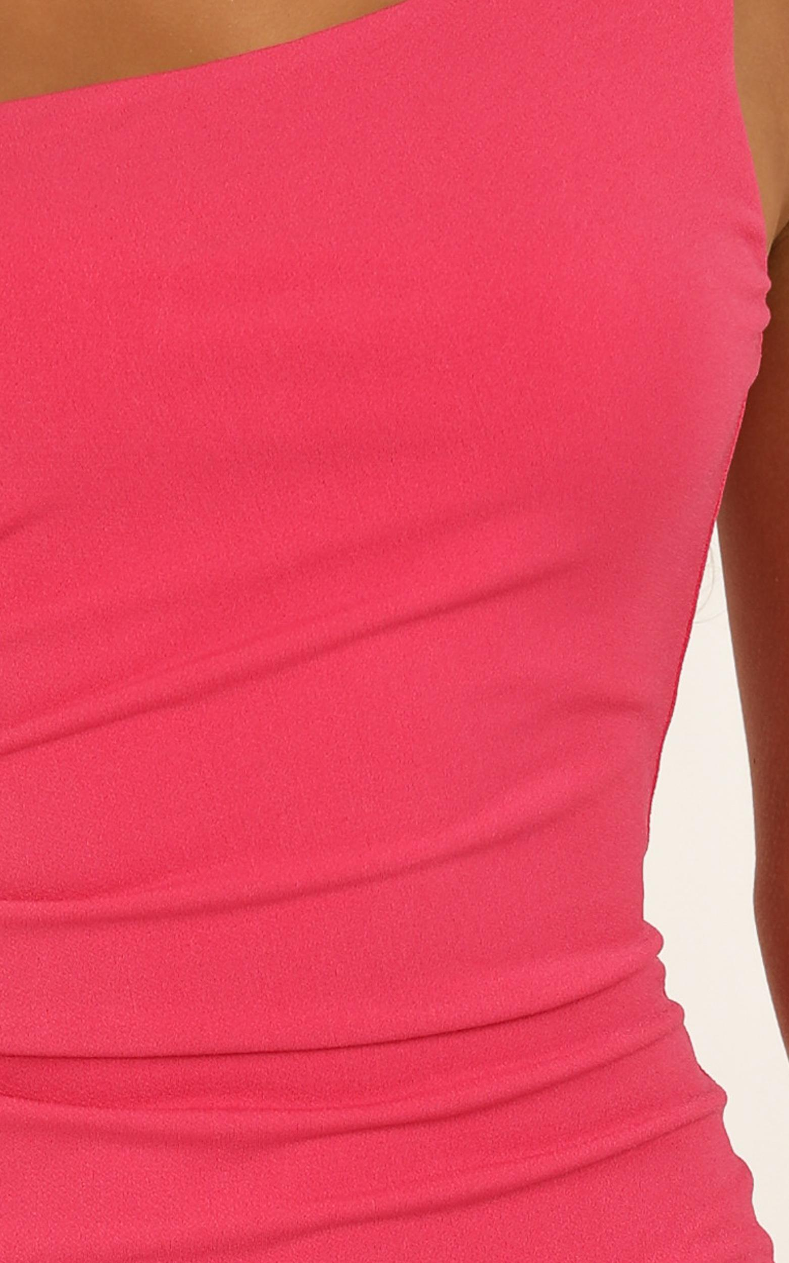 Got Me Looking Dress in Pink - 20 (XXXXL), Pink, hi-res image number null